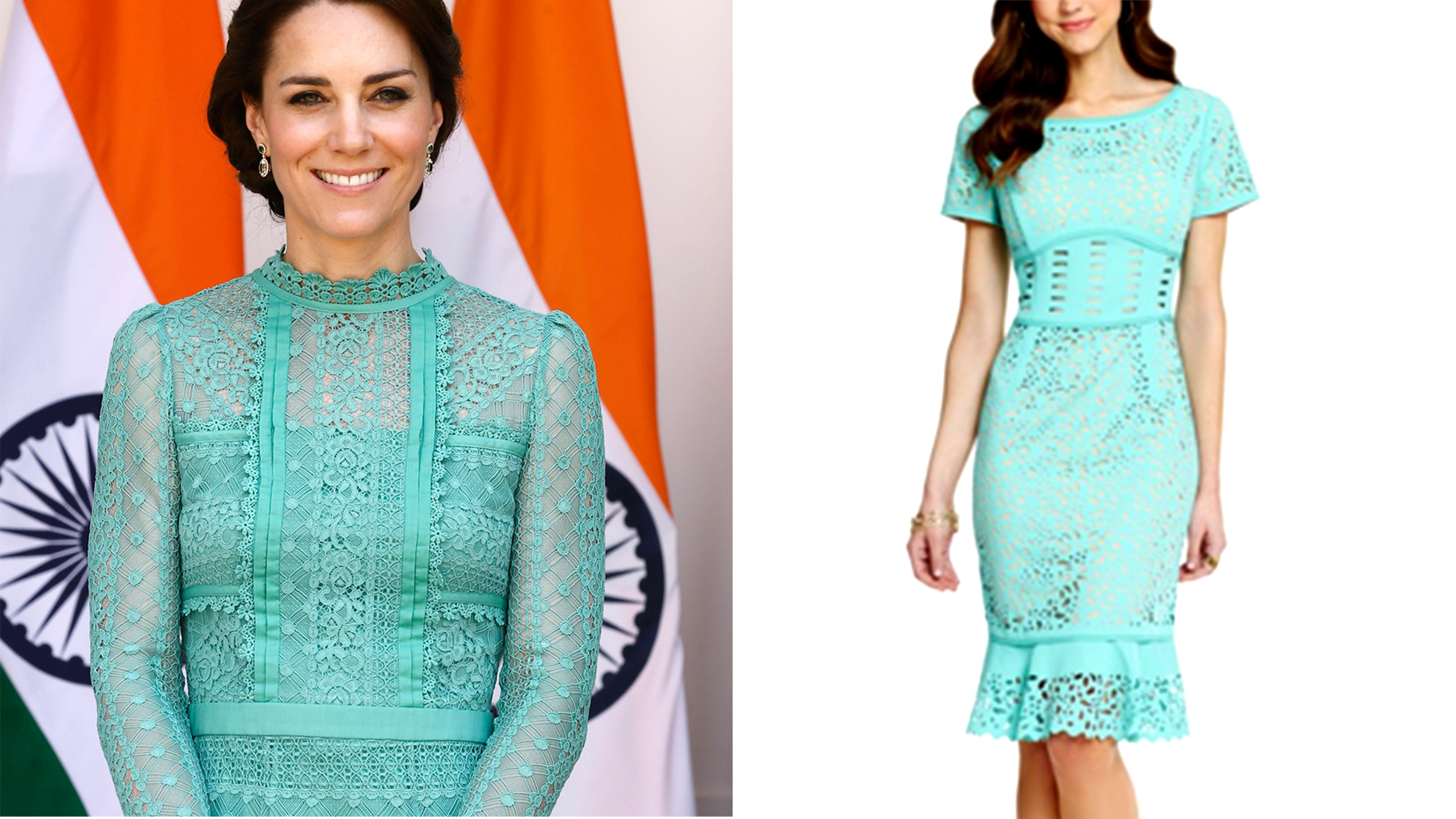 How to get Duchess Kate\'s look from her India and Buhtan trip
