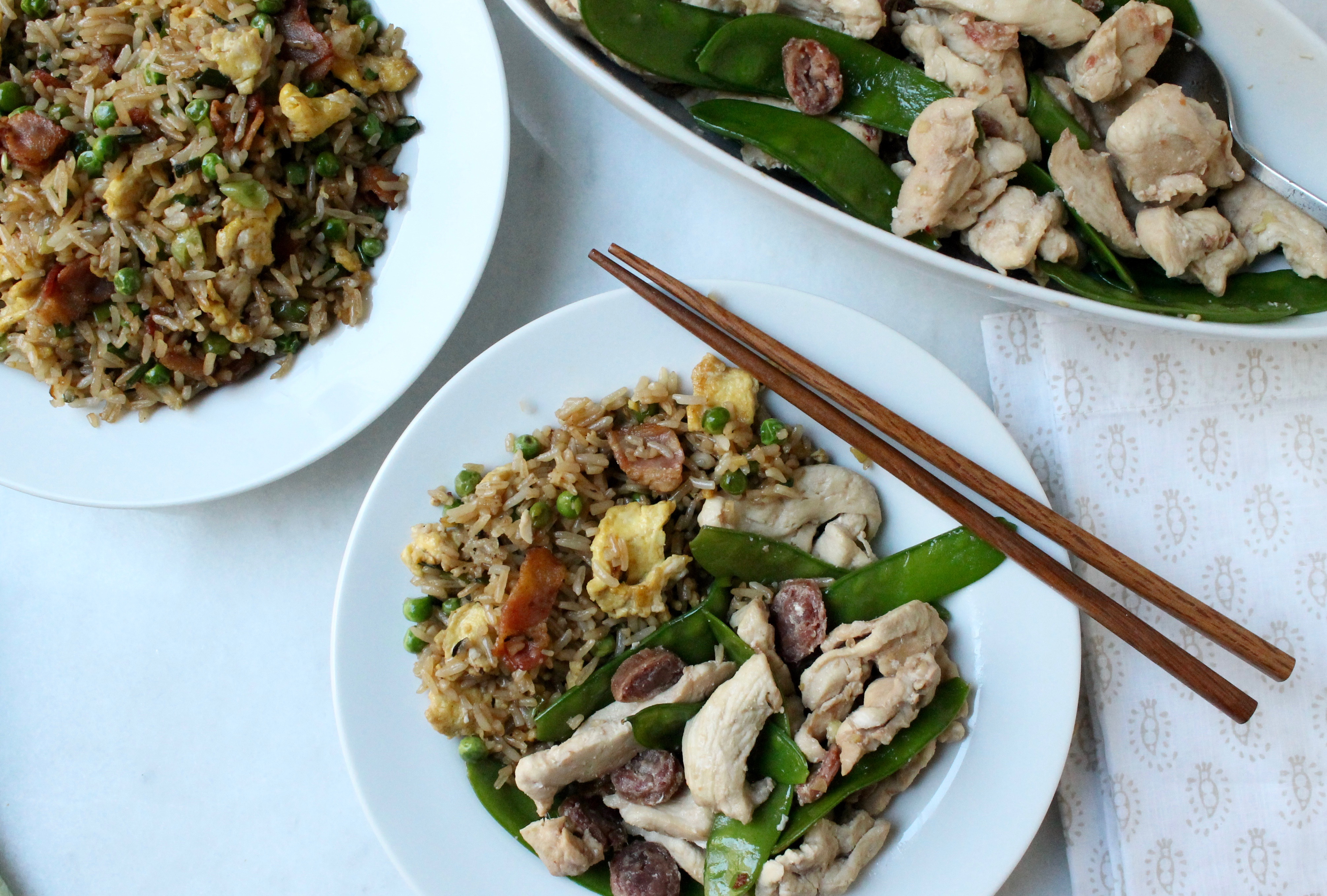Faster than delivery 15 minute chinese chicken with bacon and egg faster than delivery 15 minute chinese chicken with bacon and egg fried rice today ccuart Choice Image