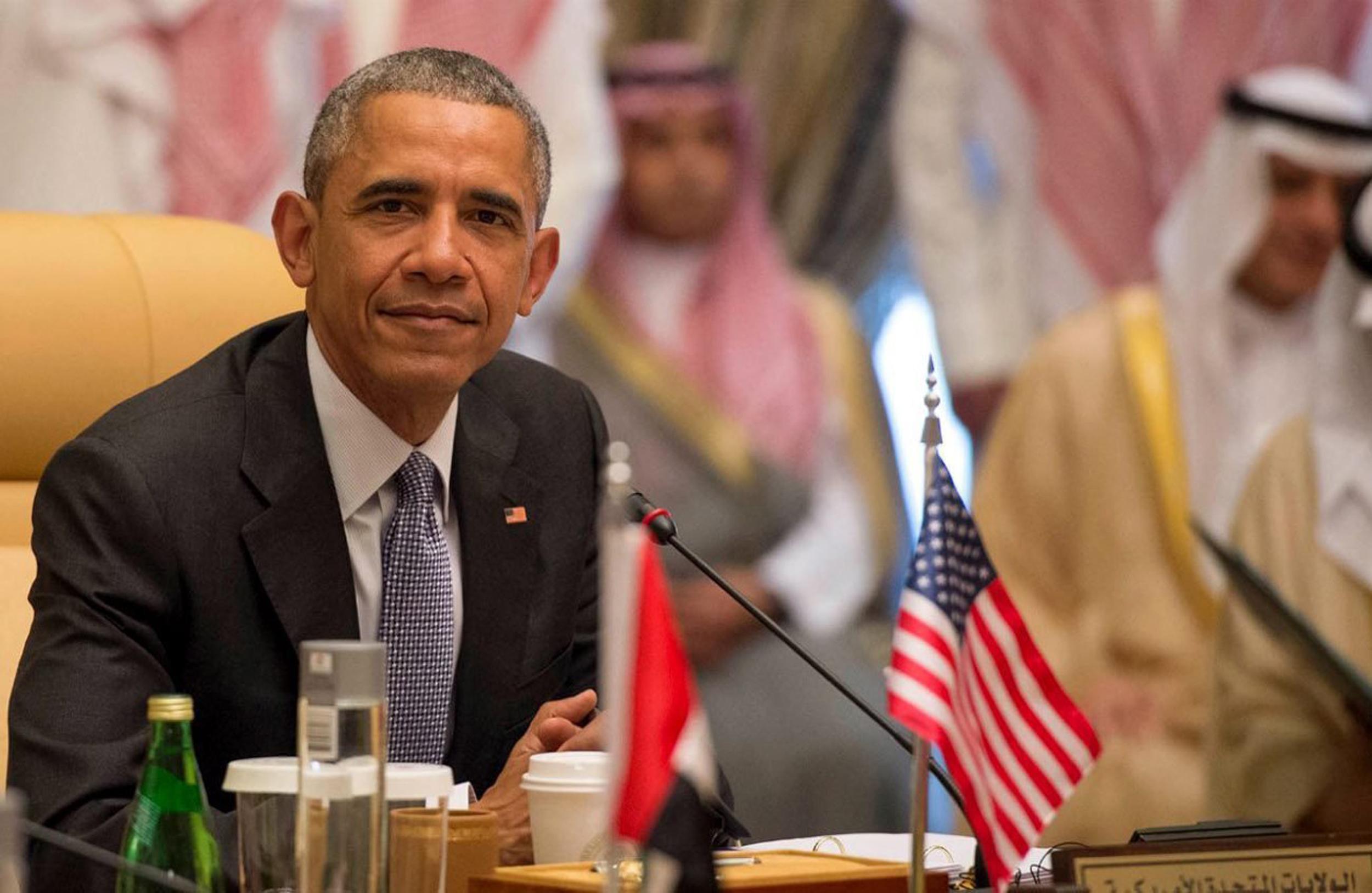 In Saudi Arabia, Obama Says U S  Still Has 'Serious Concerns