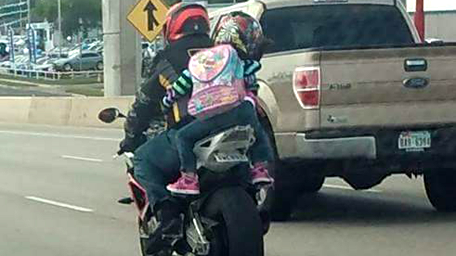 Mom Responds To Critics Of 7 Year Old Riding Motorcycle