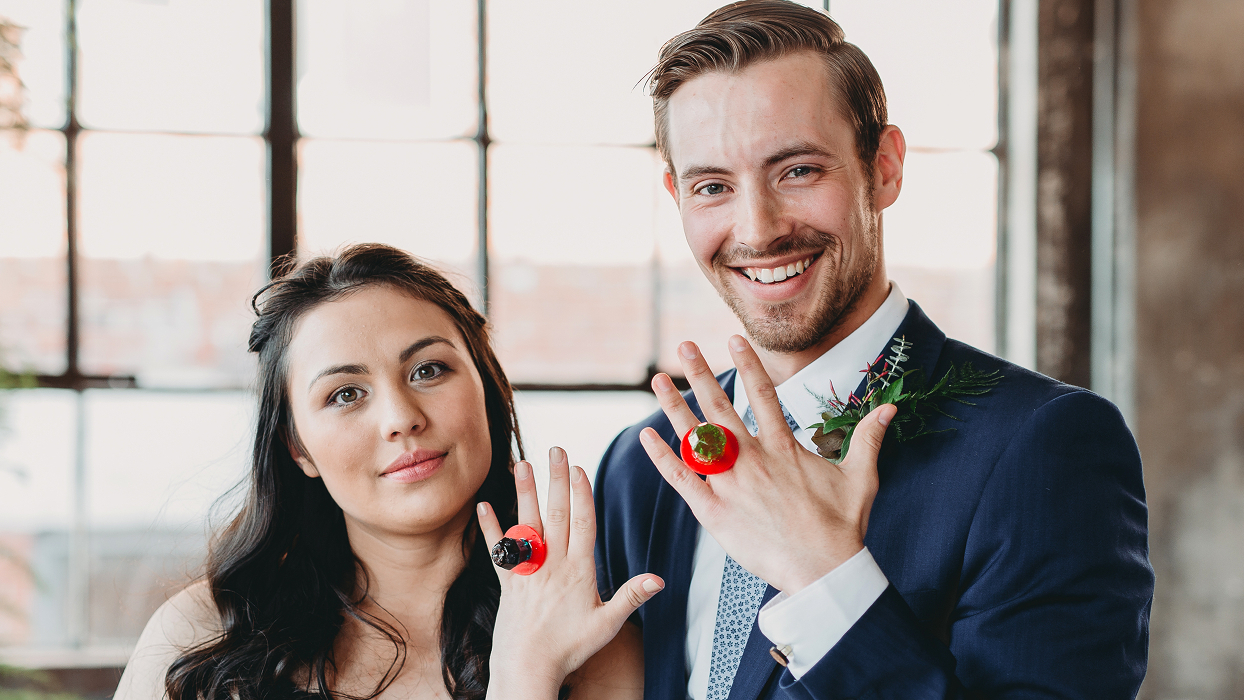 Says I Do With Ring Pops After Their Real Wedding Rings Were Stolen