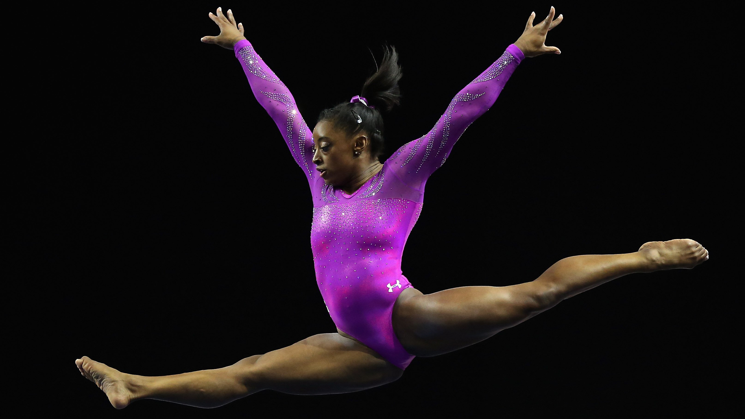 Simone Biles On Getting Nervous Before Routines And