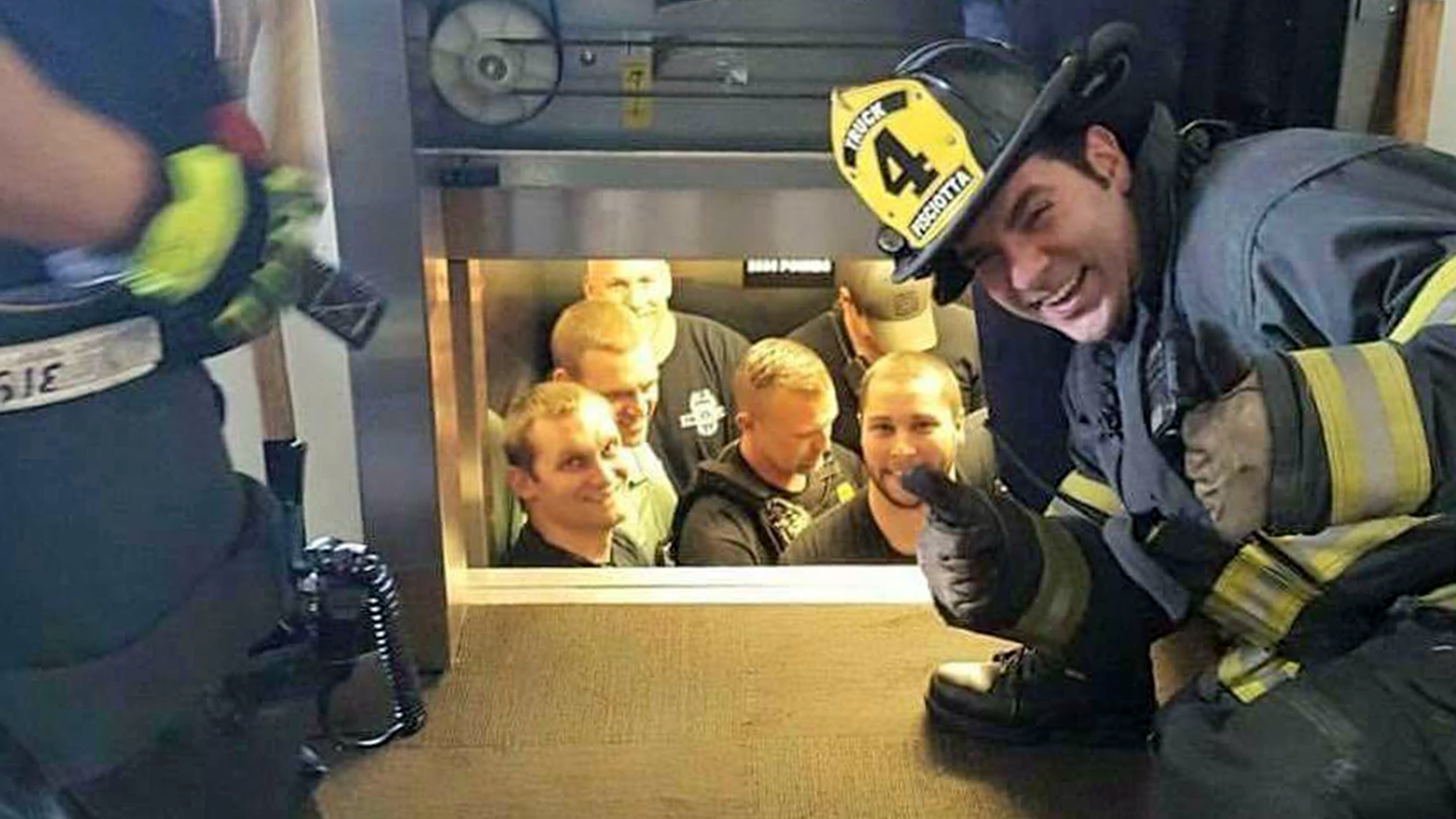 pictures What Firefighters Did After Saving Man Having Heart Attack Will Fill You with Joy
