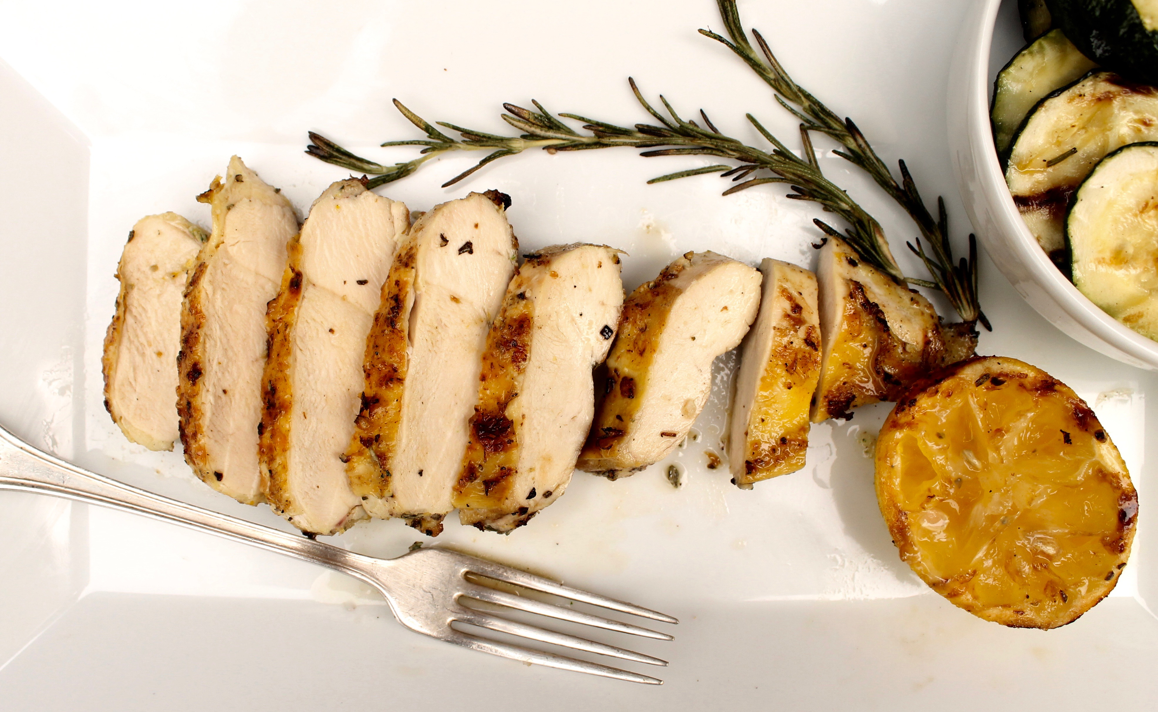 5 ingredient lemon rosemary grilled chicken breasts today forumfinder Image collections