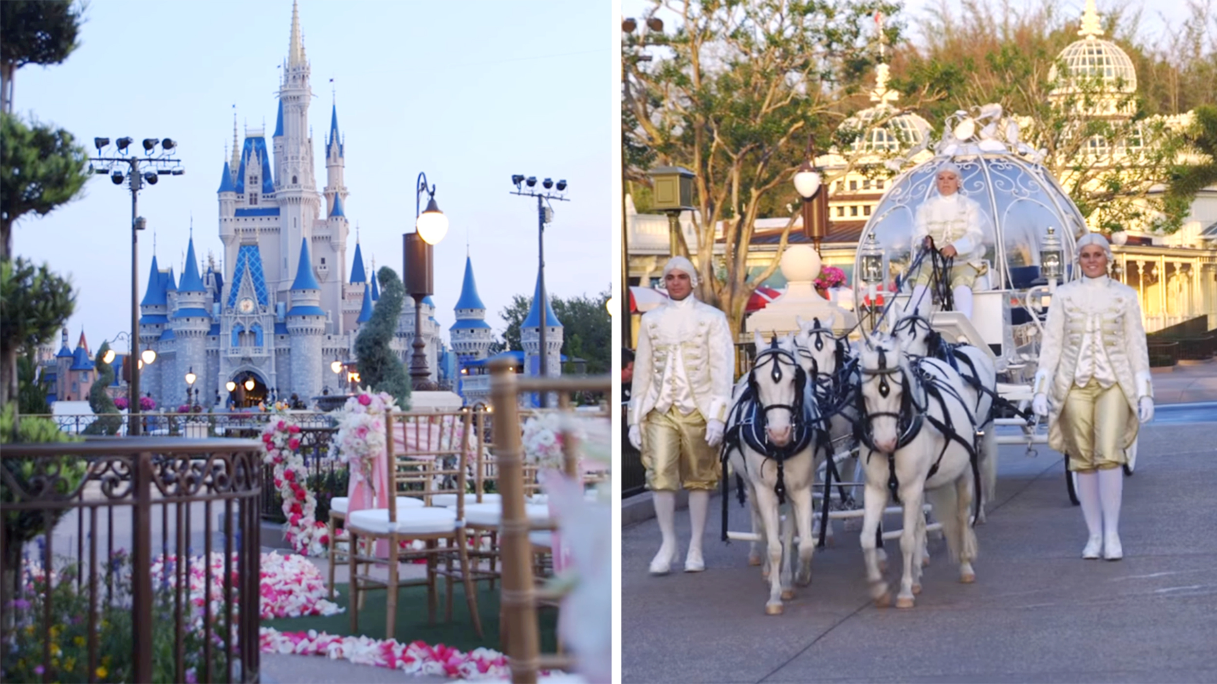 your dream wedding at cinderella s castle at disney world can now