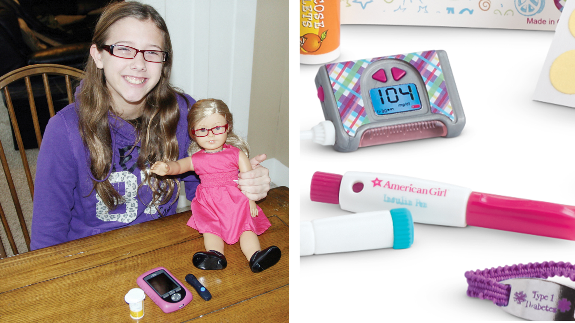 Mattel's American Girl Debuts Diabetes Care Kit For Dolls