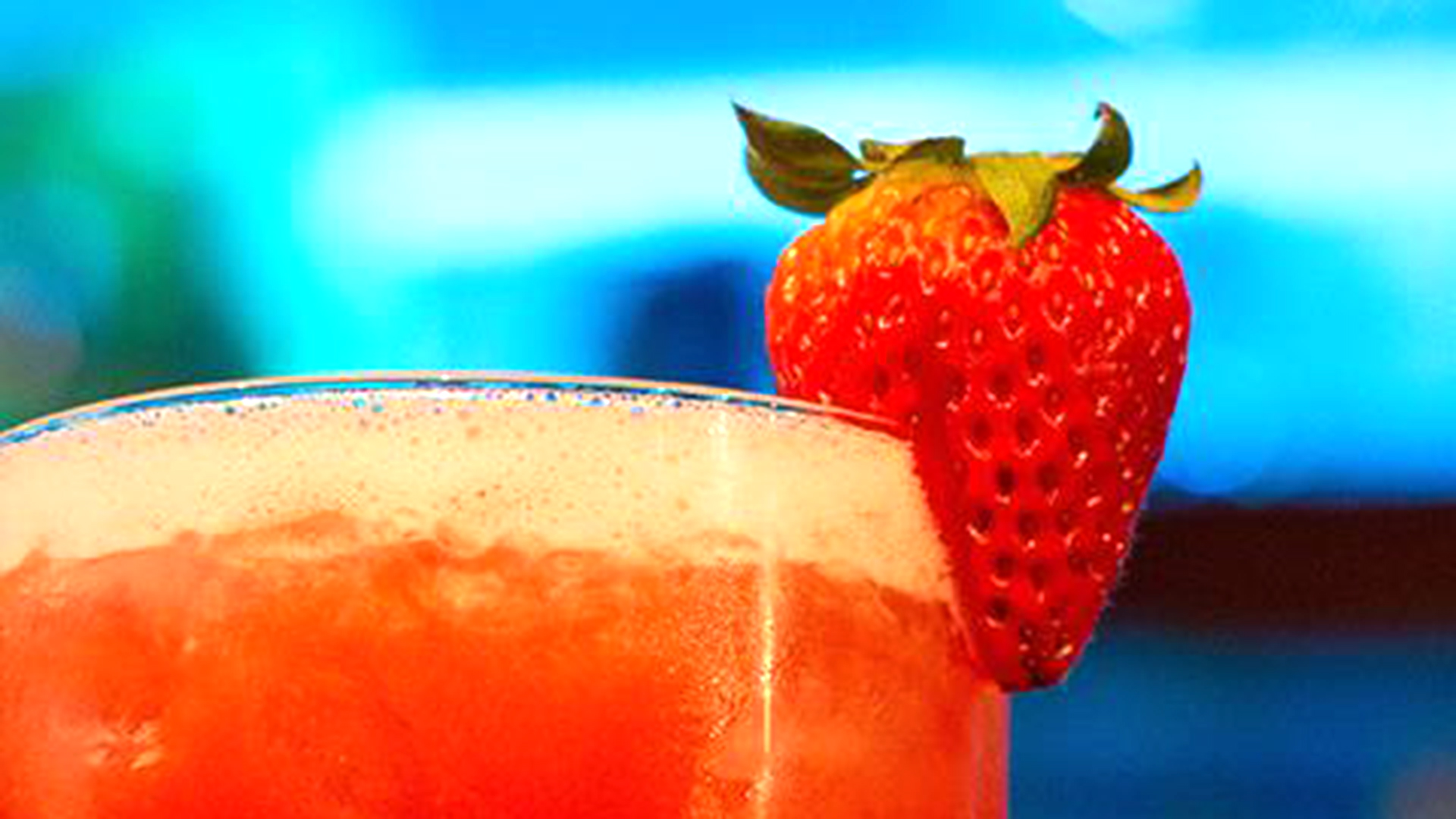 3 Ingredient Strawberry Margarita Today Com