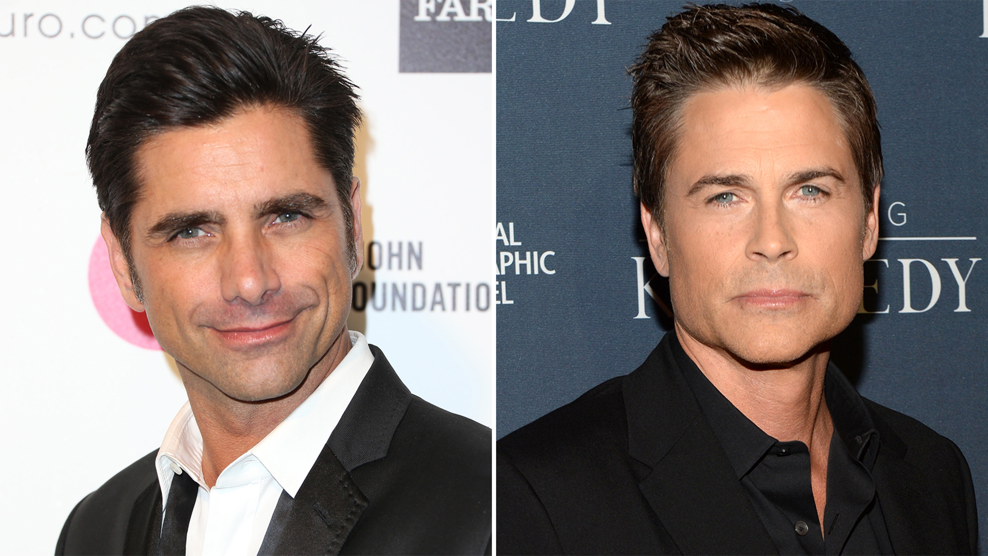 John Stamos gets mistaken for Rob Lowe while on vacation ...