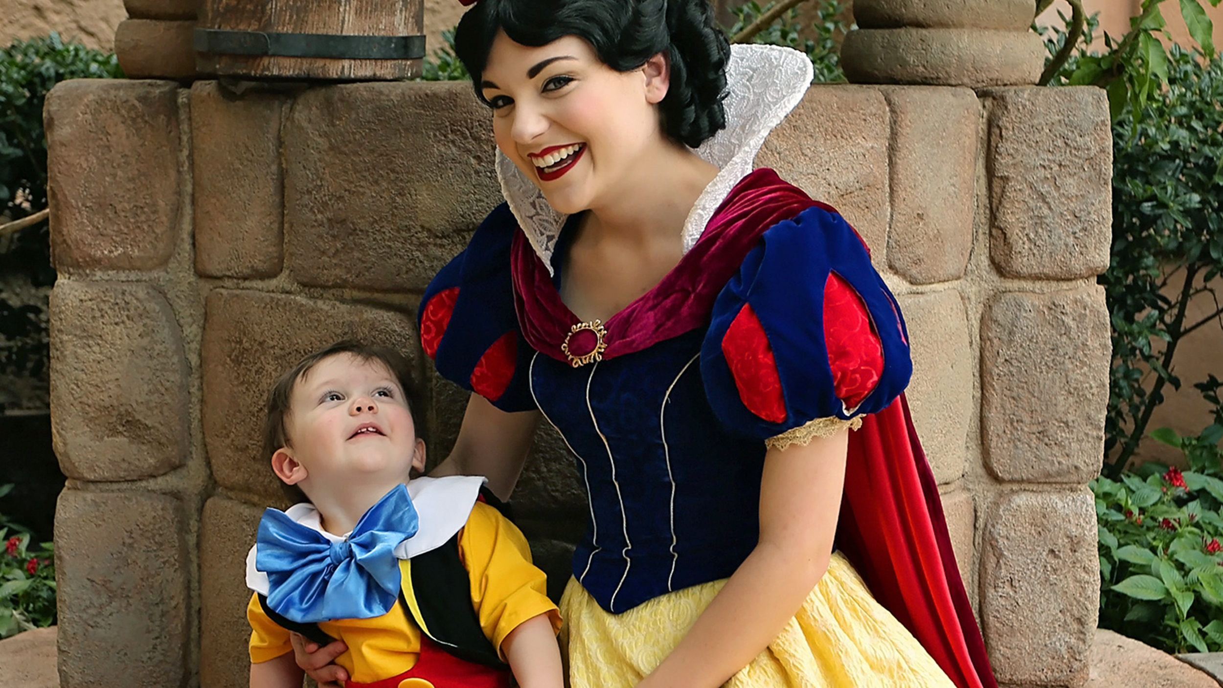 Snow White Toddler With Autism Share Tender Moment