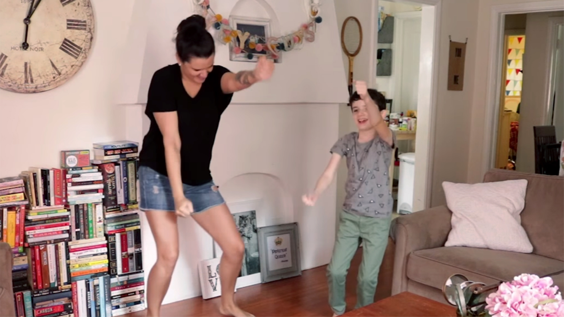 justin timberlake has moms kids dancing in parody video