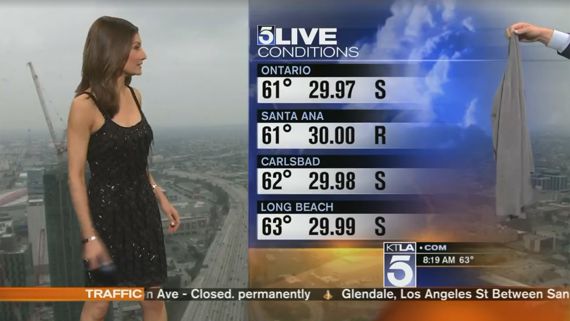 Meteorologist Libert 233 Chan Asked To Cover Up Dress On Live