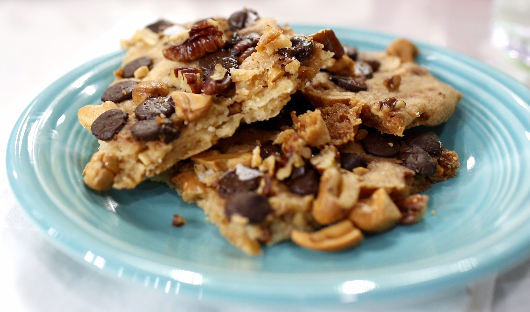 Chocolate Chip Cookie Brittle - TODAY.com