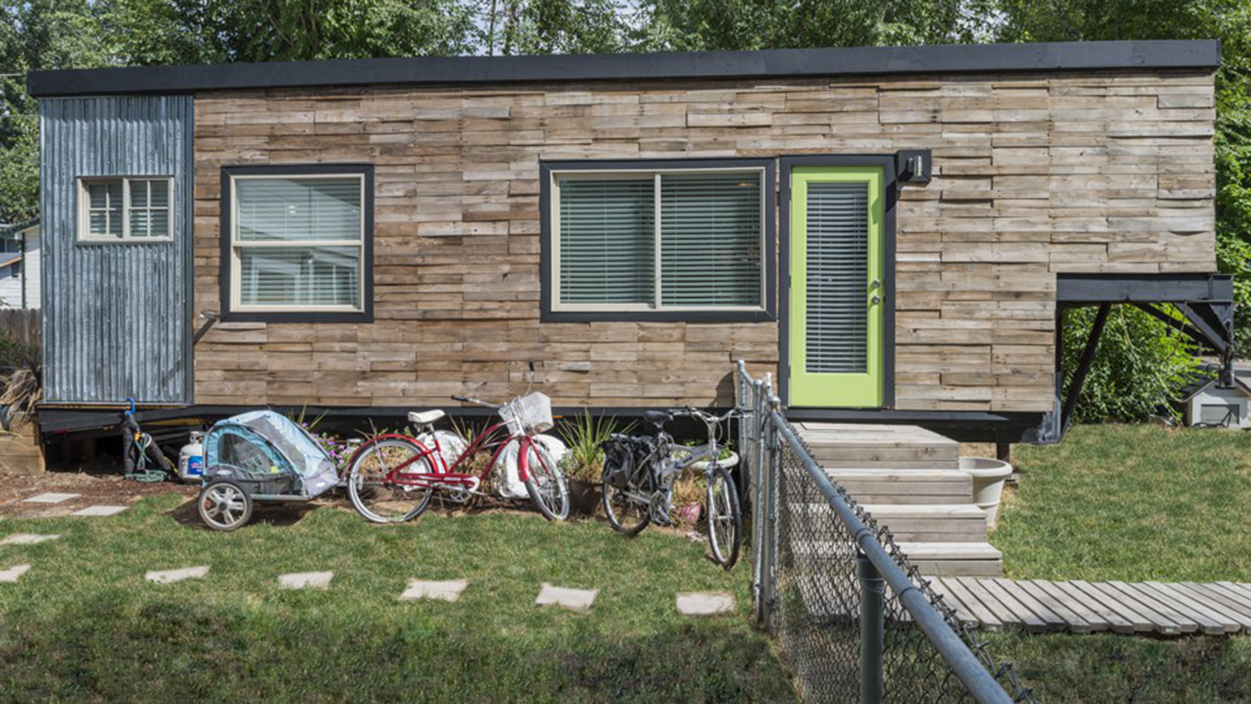 See How A Family Of 4 Lives In A 196 Square Foot House