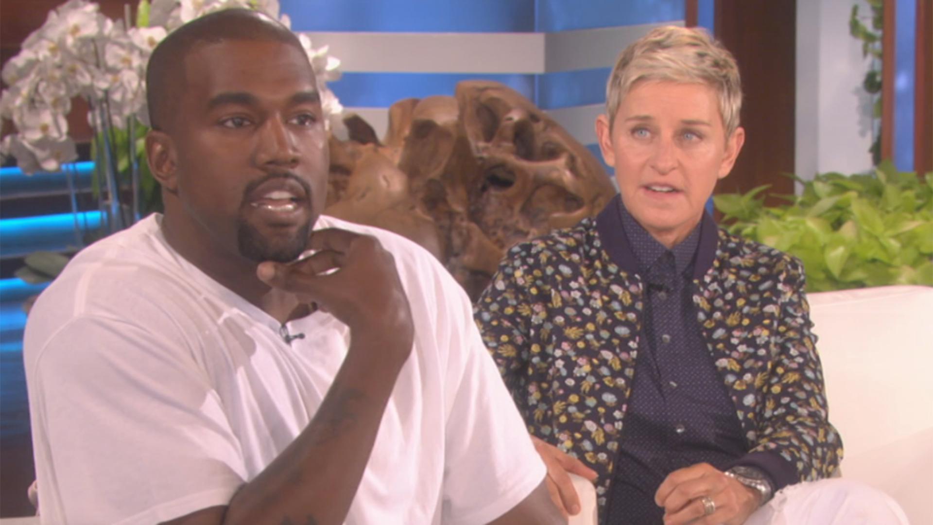 Kanye West goes on 8-minute rant to Ellen DeGeneres: 'What ...