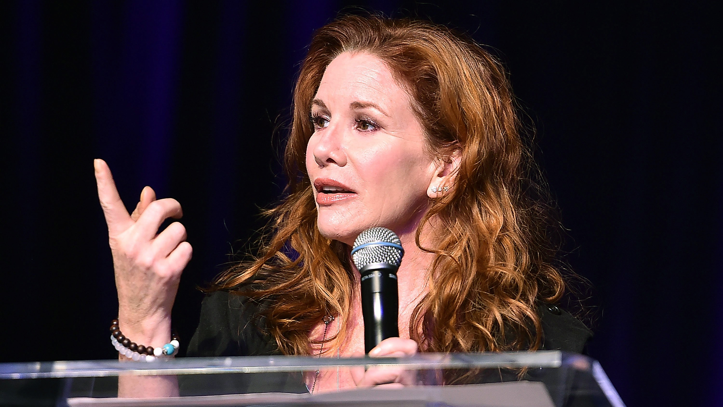 Melissa Gilbert Drops Bid For Congress Citing Neck Pain Advice From