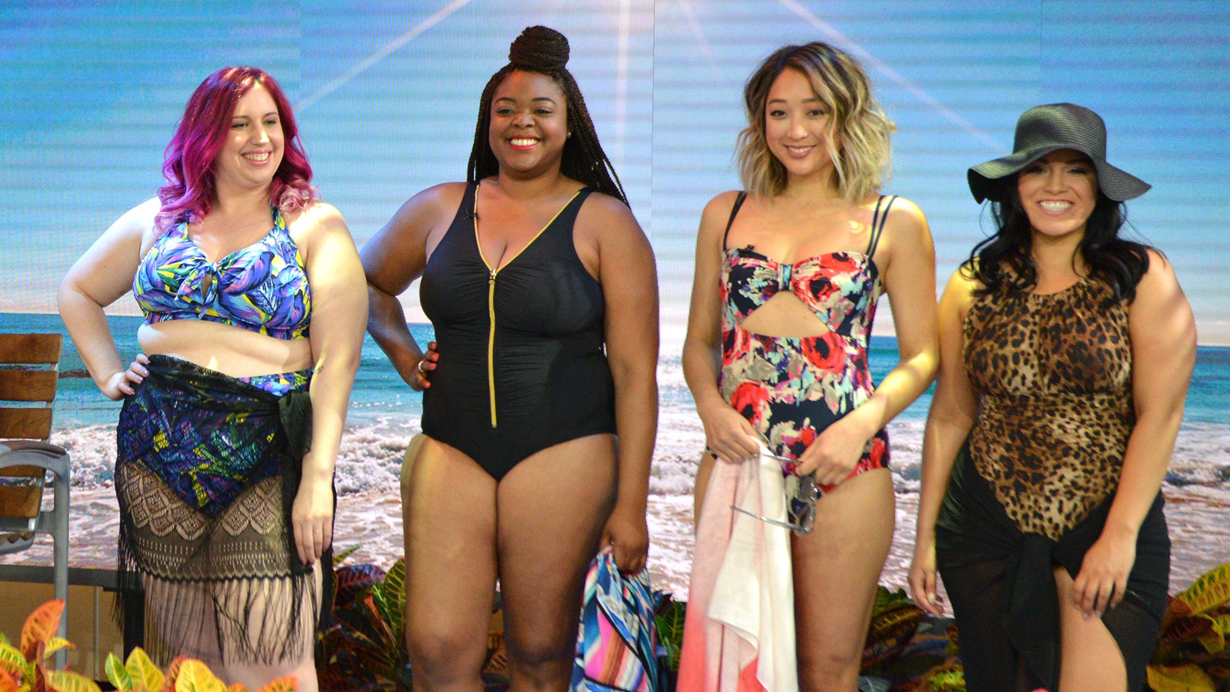 29837d9476 Swimsuits styles  High-waisted bikinis
