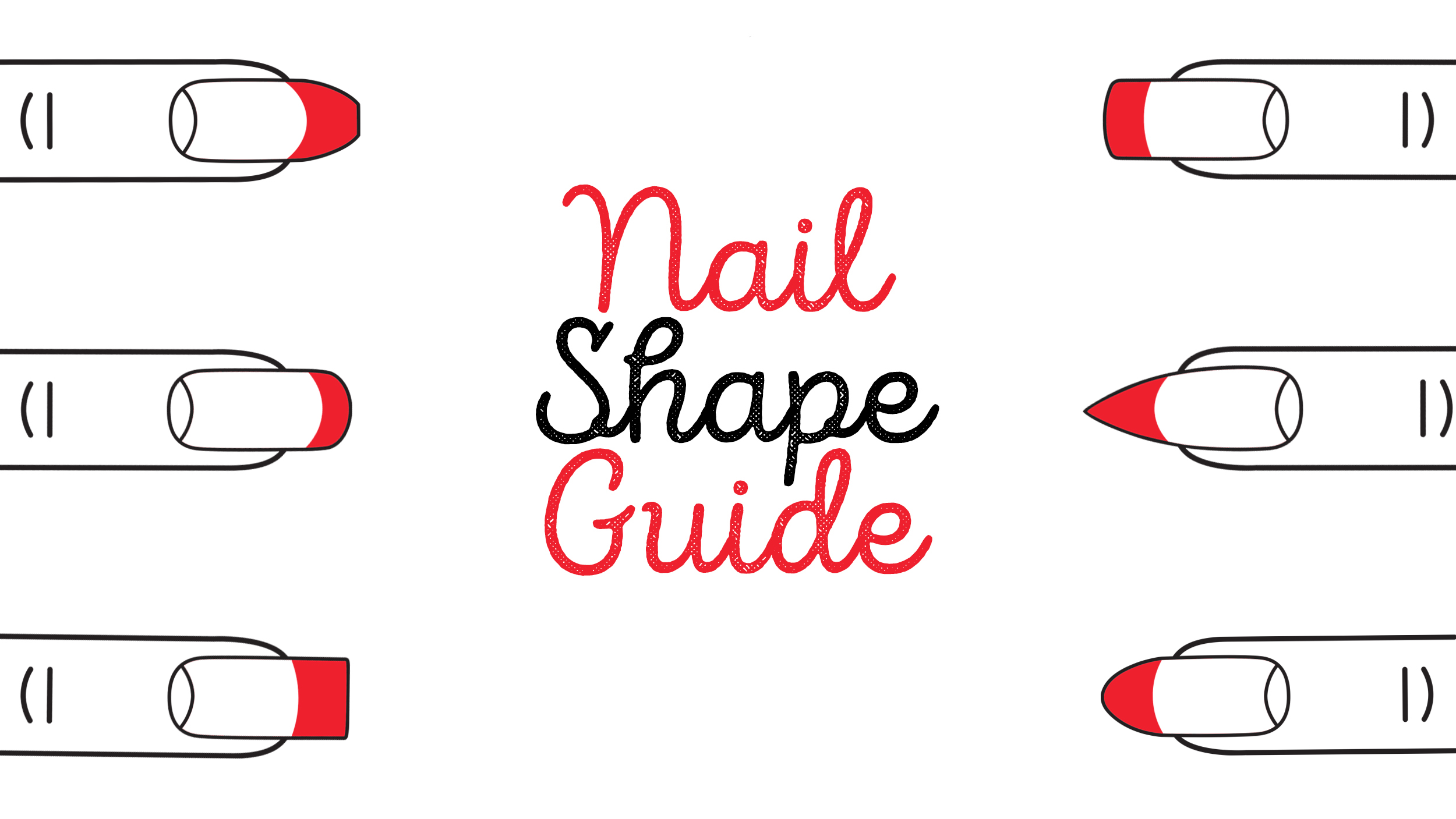 Find your best nail shape: Almond nails, oval nails, coffin and more