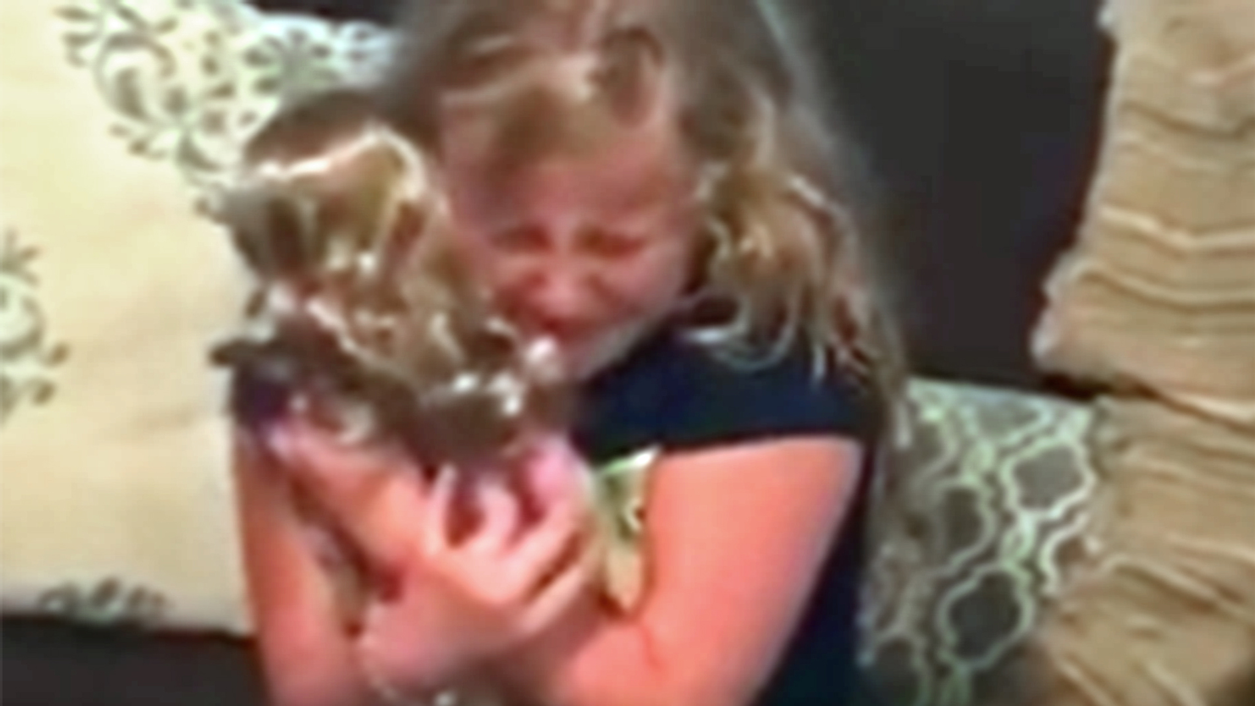Watch This Girl Cry Tears Of Joy After Getting A Doll With