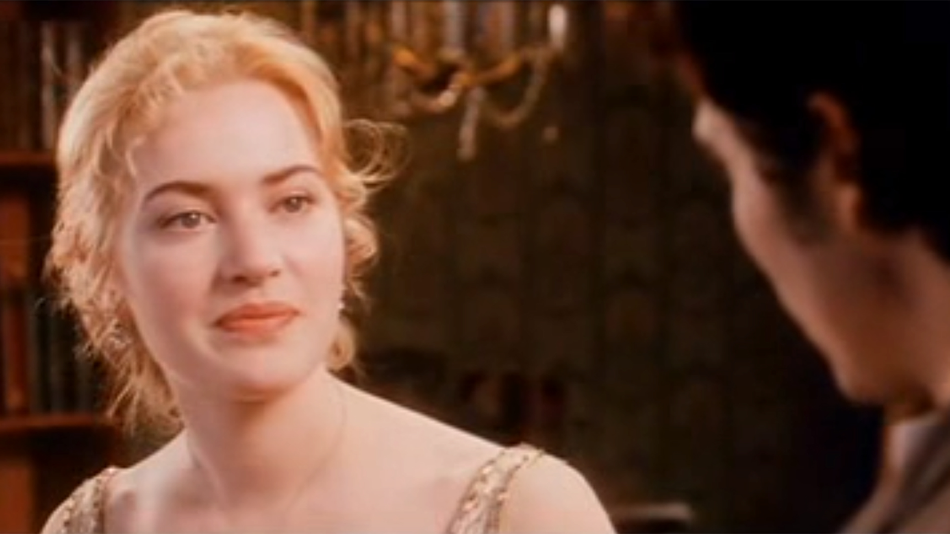 kate winslet's screen test for 'titanic' is magic. but who plays jack?