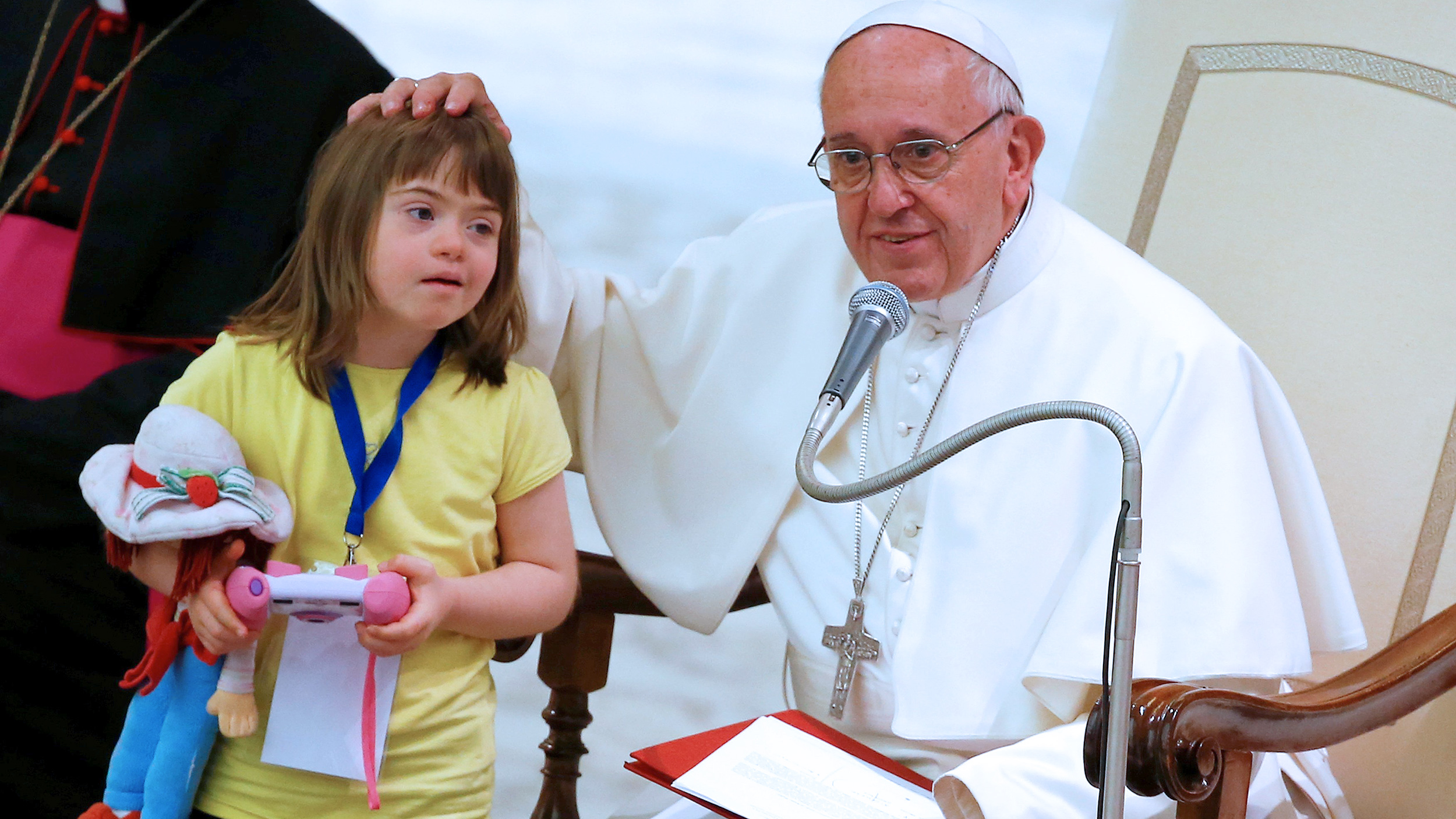 Pope Francis Children