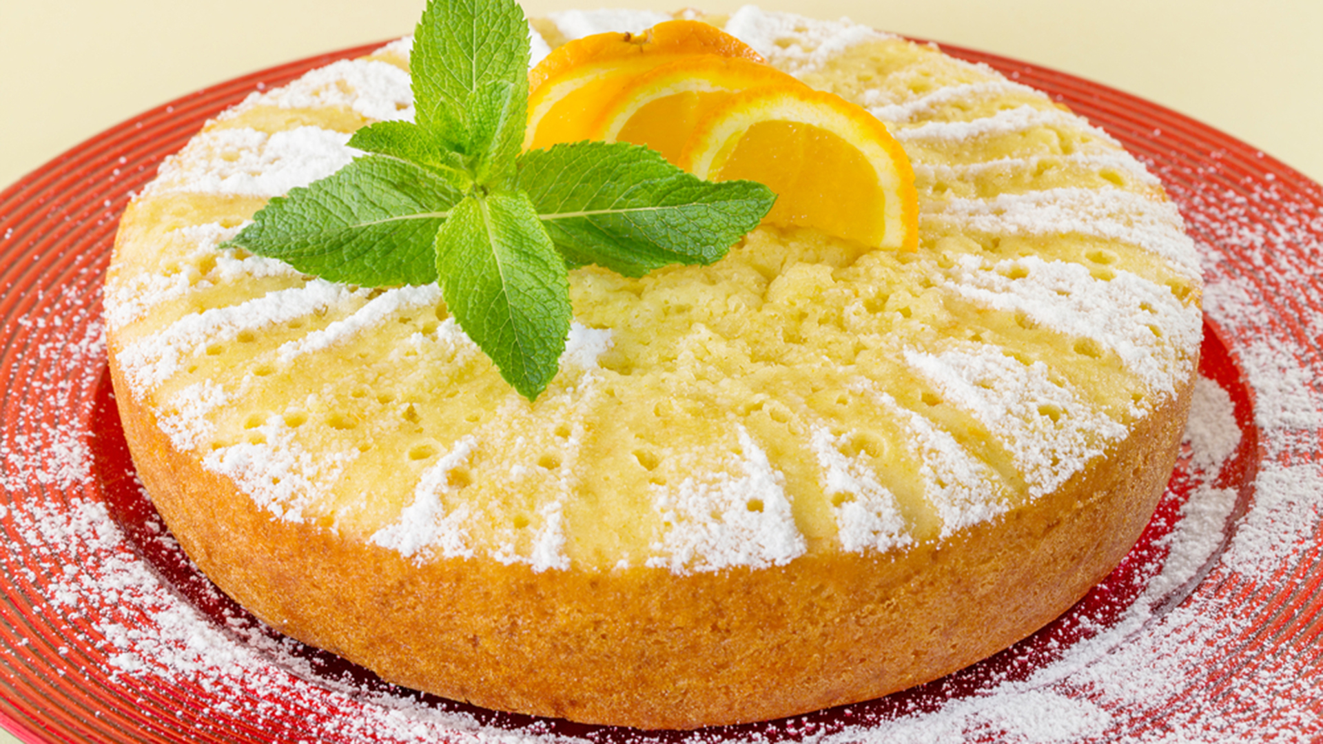 Orange Peel Cake Recipe