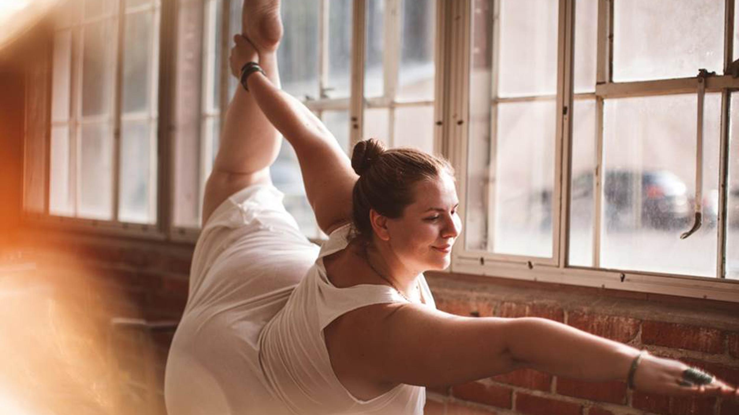 Body-positive yogi Dana Falsetti on how she found her confidence