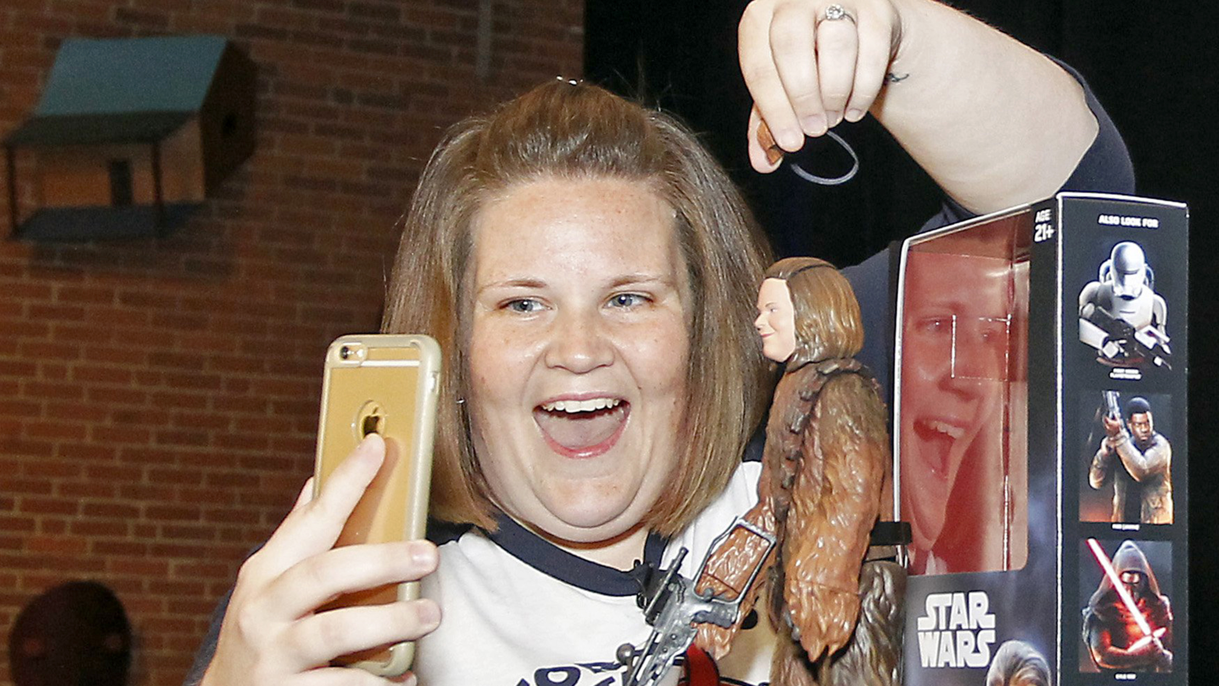 chewbacca mom' now has her own action figure doll! here are the