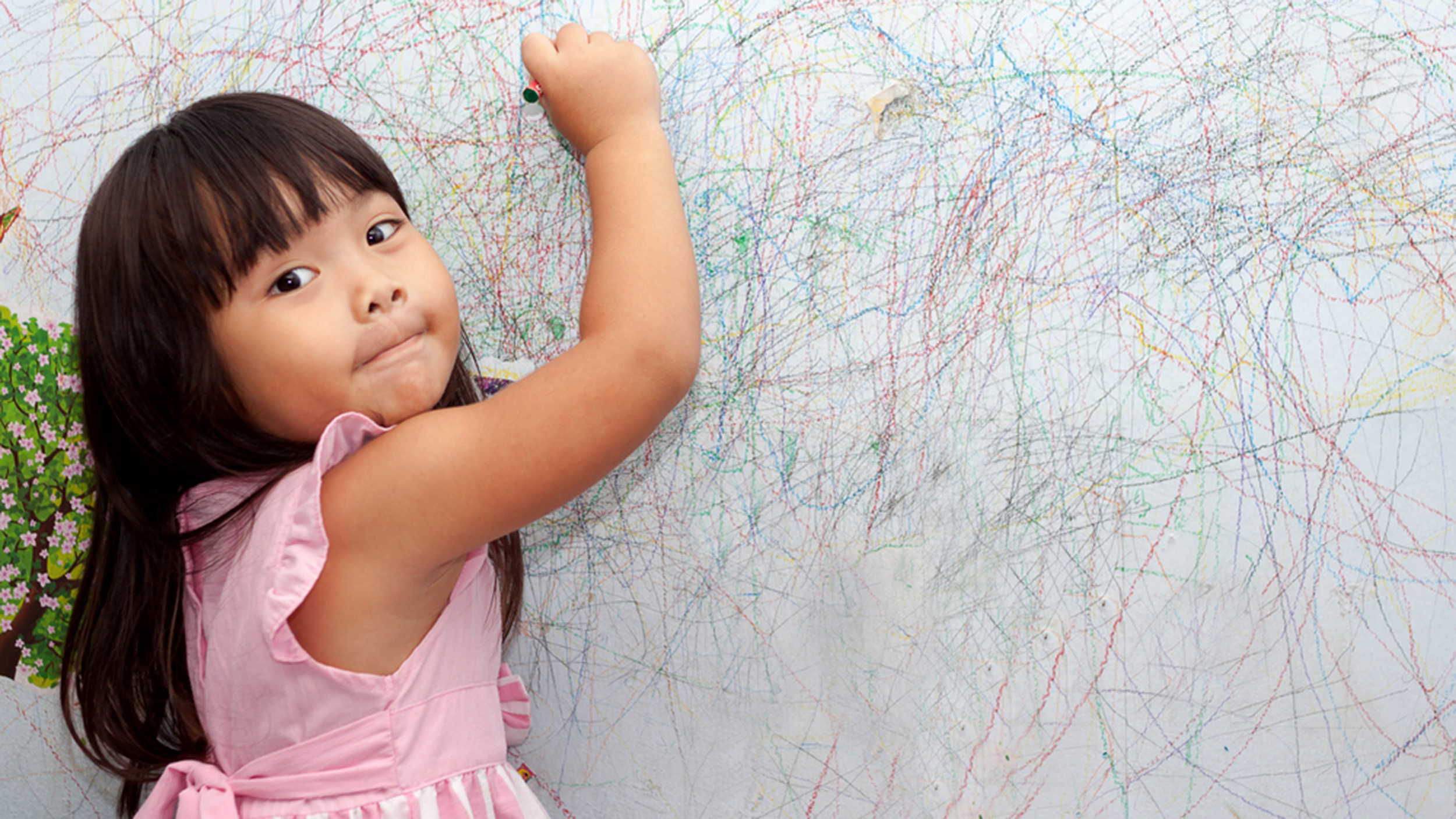 Remove Crayon From Wall How To Remove Crayon Marks From