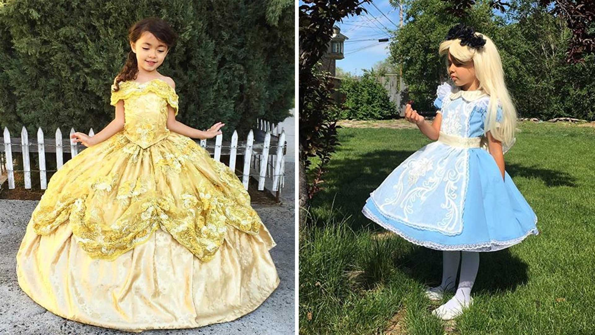 Dad Designs Magical Disney Inspired Costumes For His Kids