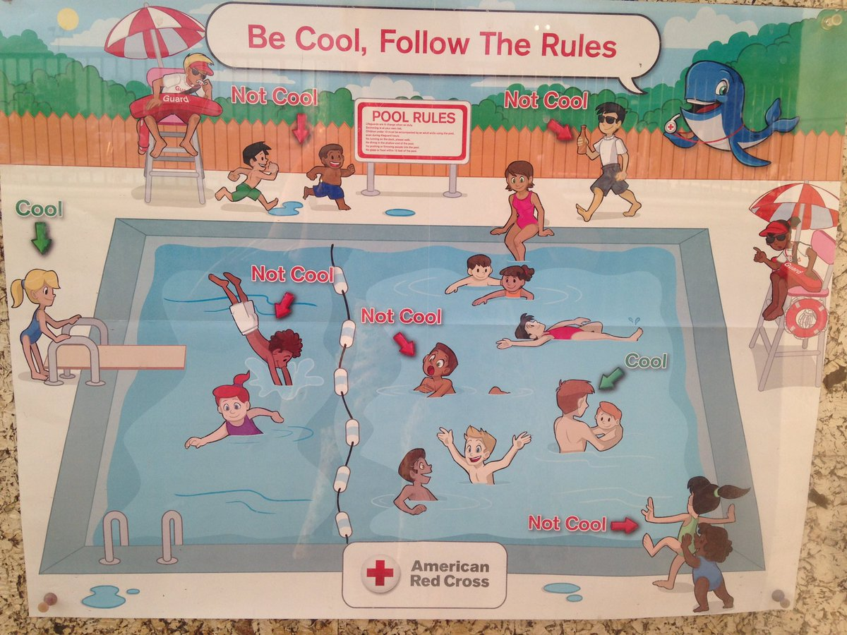 Racist\' Pool Safety Poster Brings Red Cross Apology