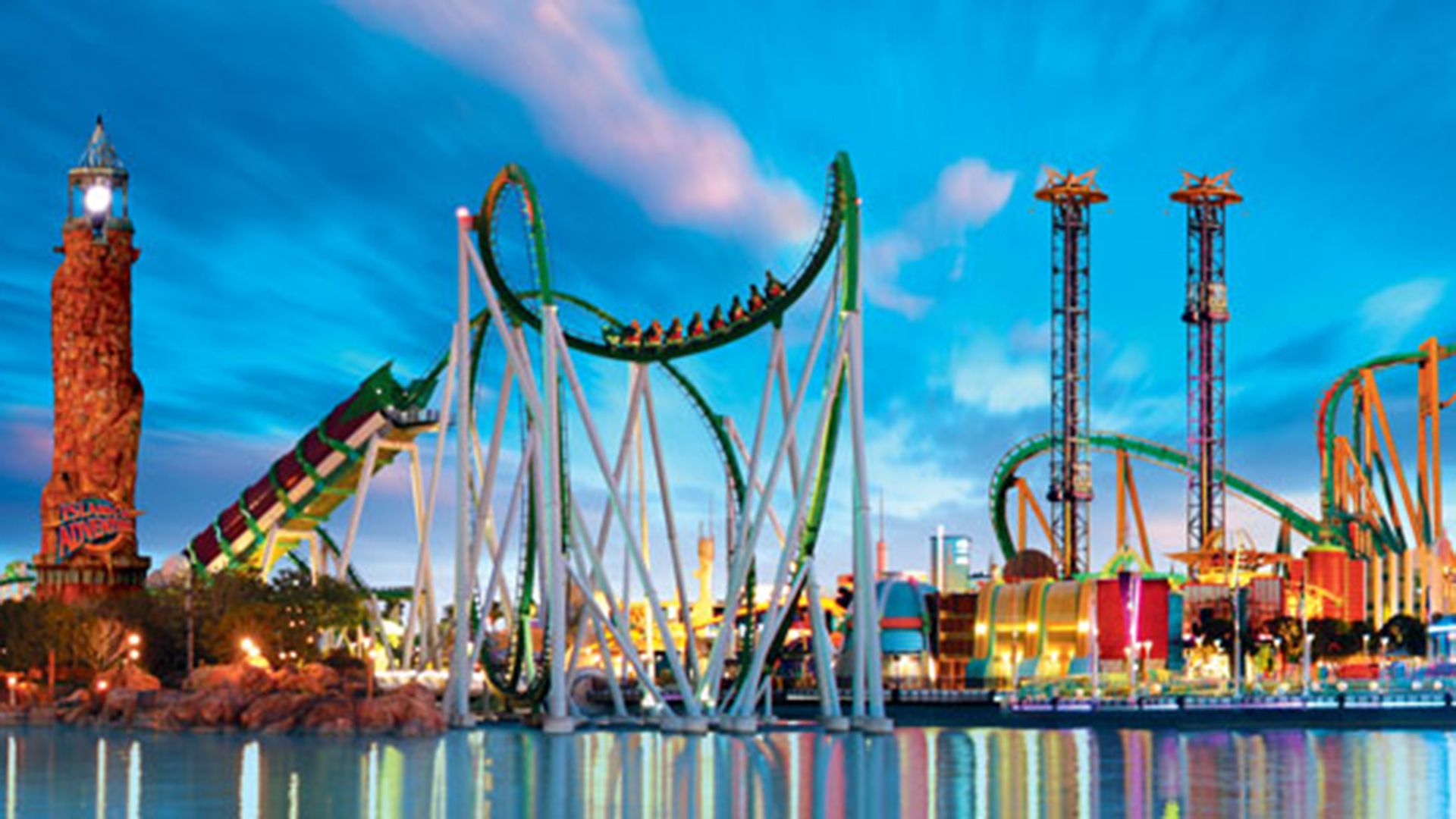 Top 10 Amusement And Water Parks In The Us According To