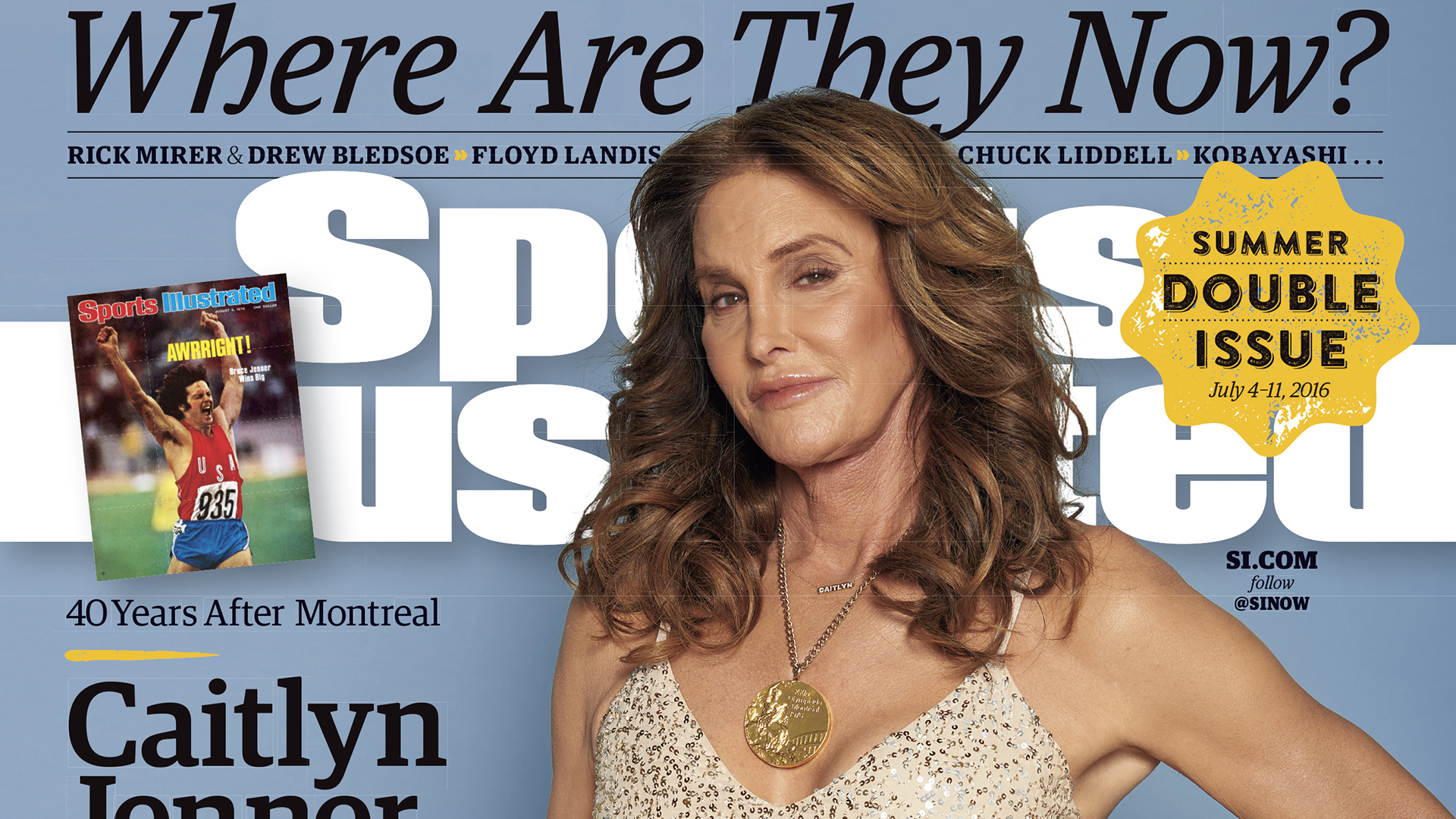 See Caitlyn Jenner's historic Sports Illustrated cover