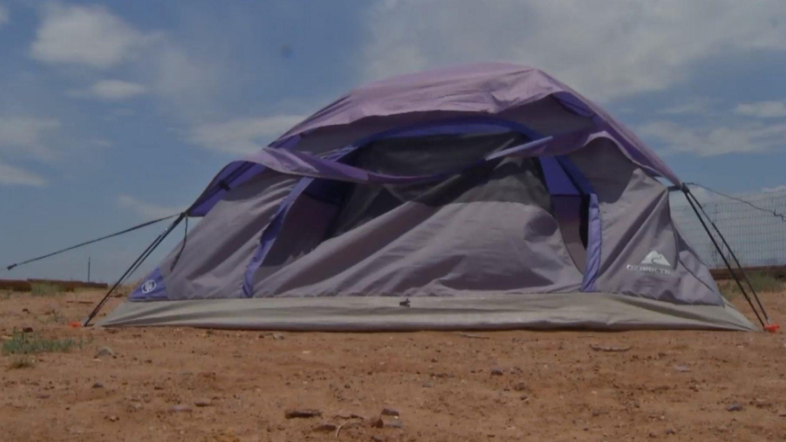 Parents punish teen for theft with backyard tent banishment