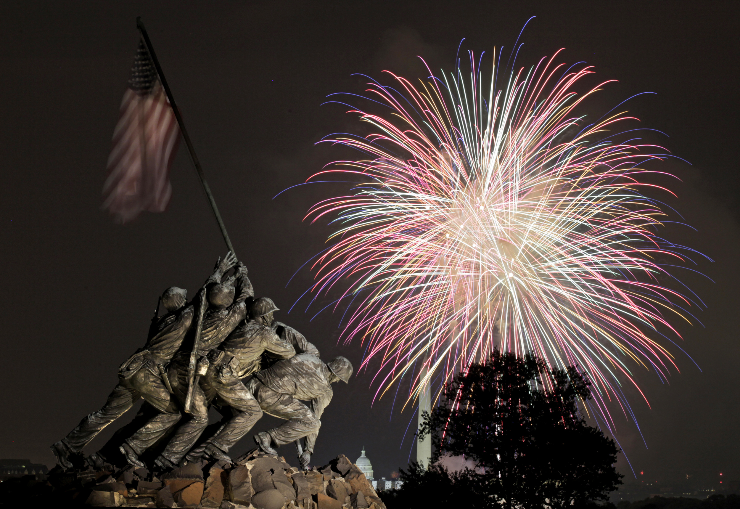 for military vets with ptsd 4th and fireworks can be nerve