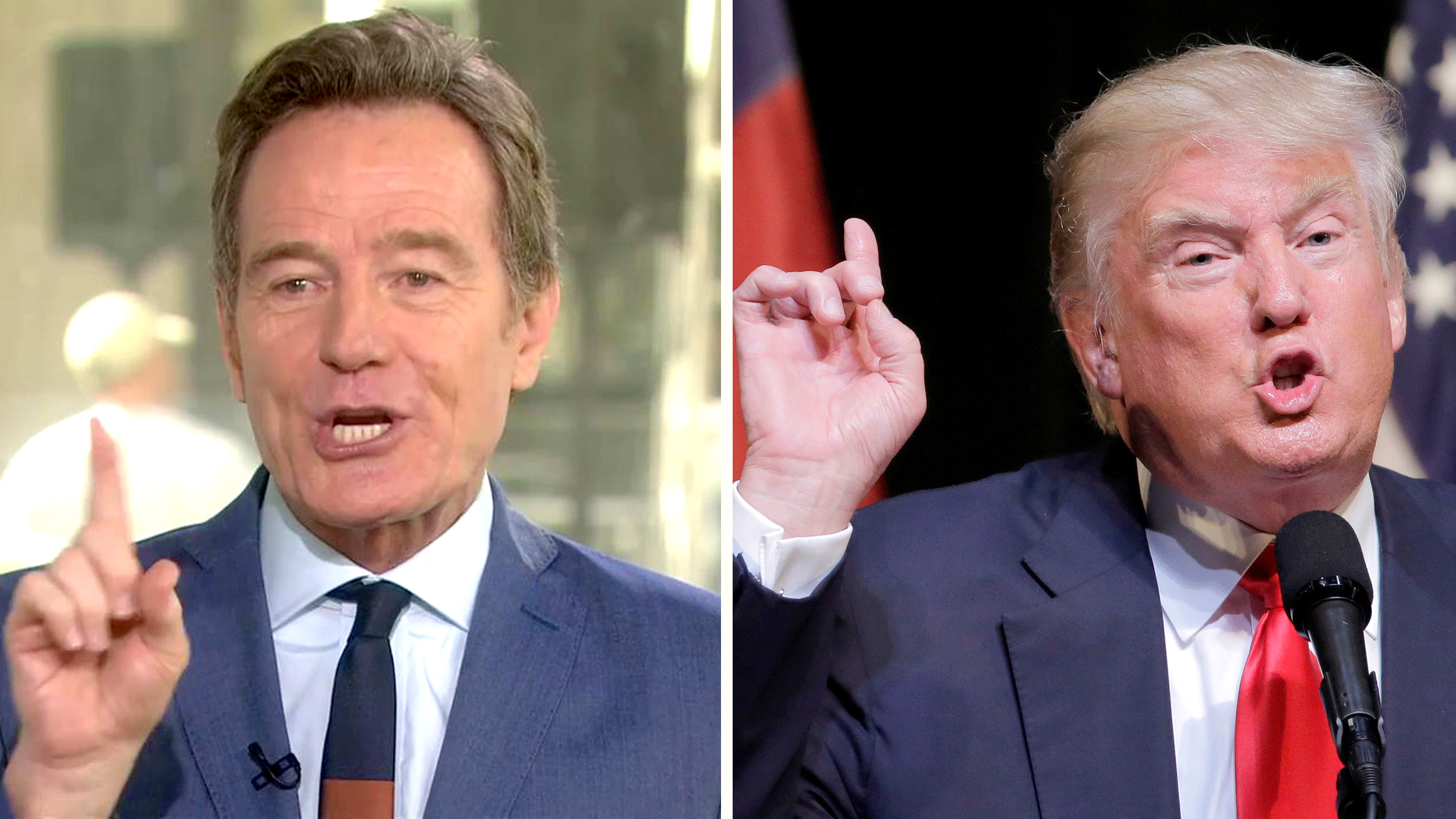 Bryan Cranston Says He Wants To Play Donald Trump Watch