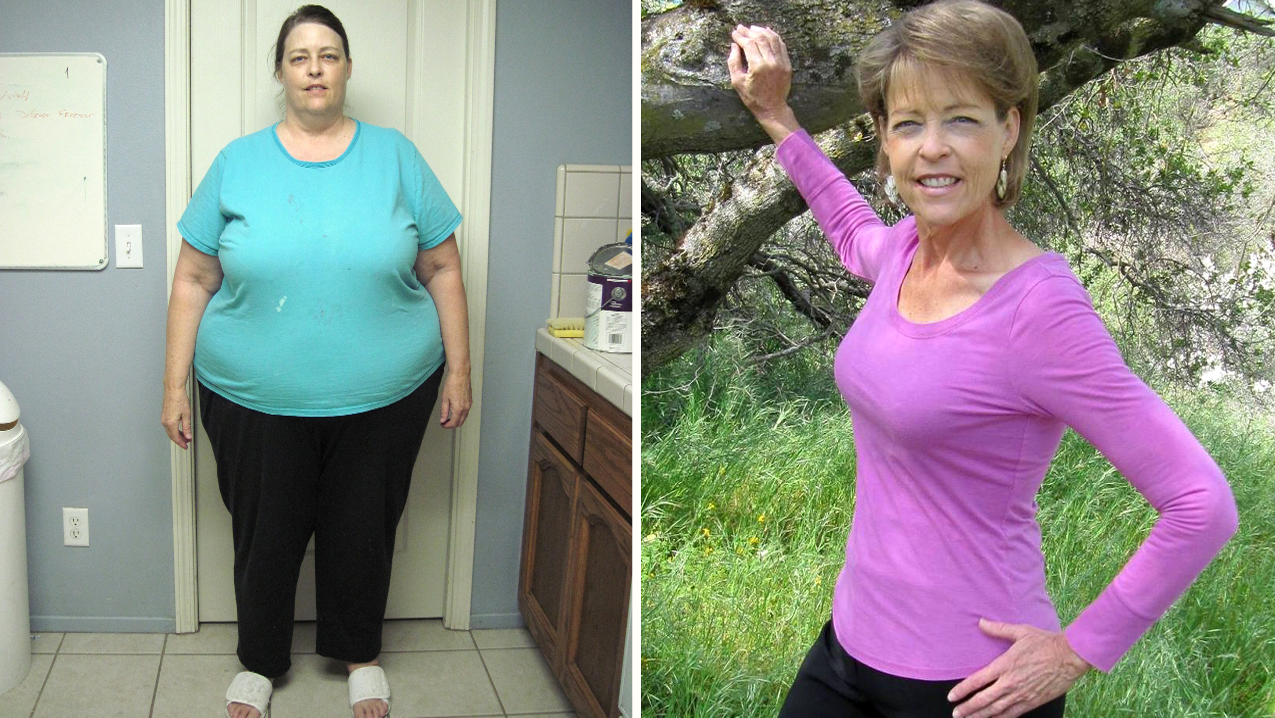 Midlife weight loss: How this woman lost 225 pounds in her 60s