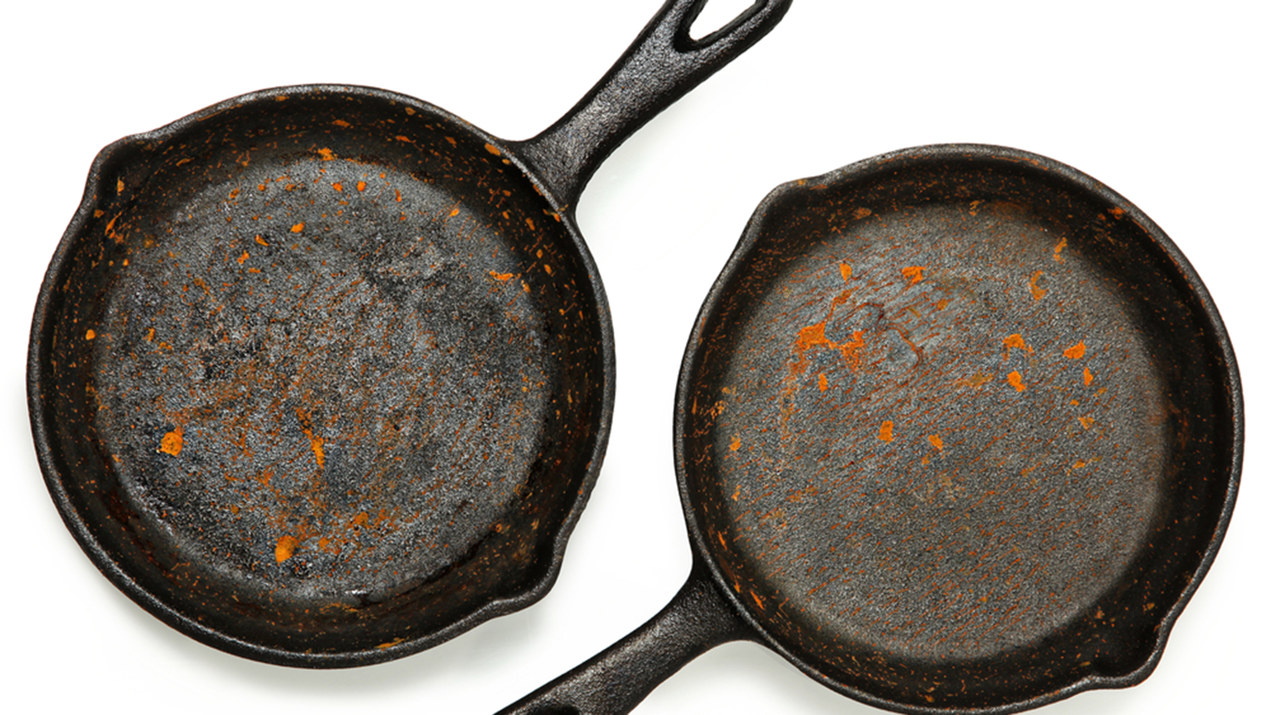 How to fix your cast iron pan after rust spots, burned food