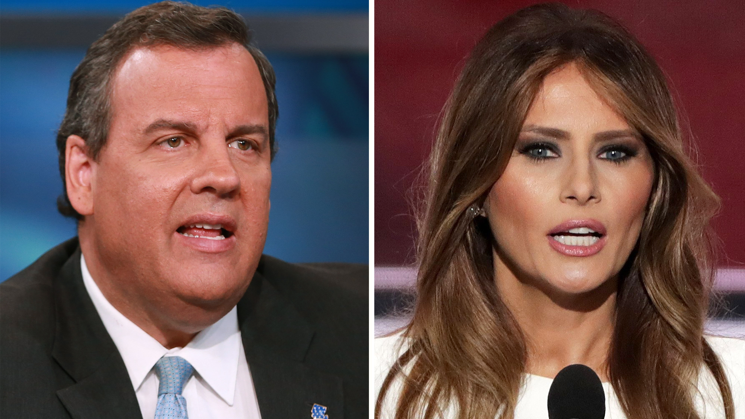 Chris Christie: 93 percent of Melania Trump's speech ...