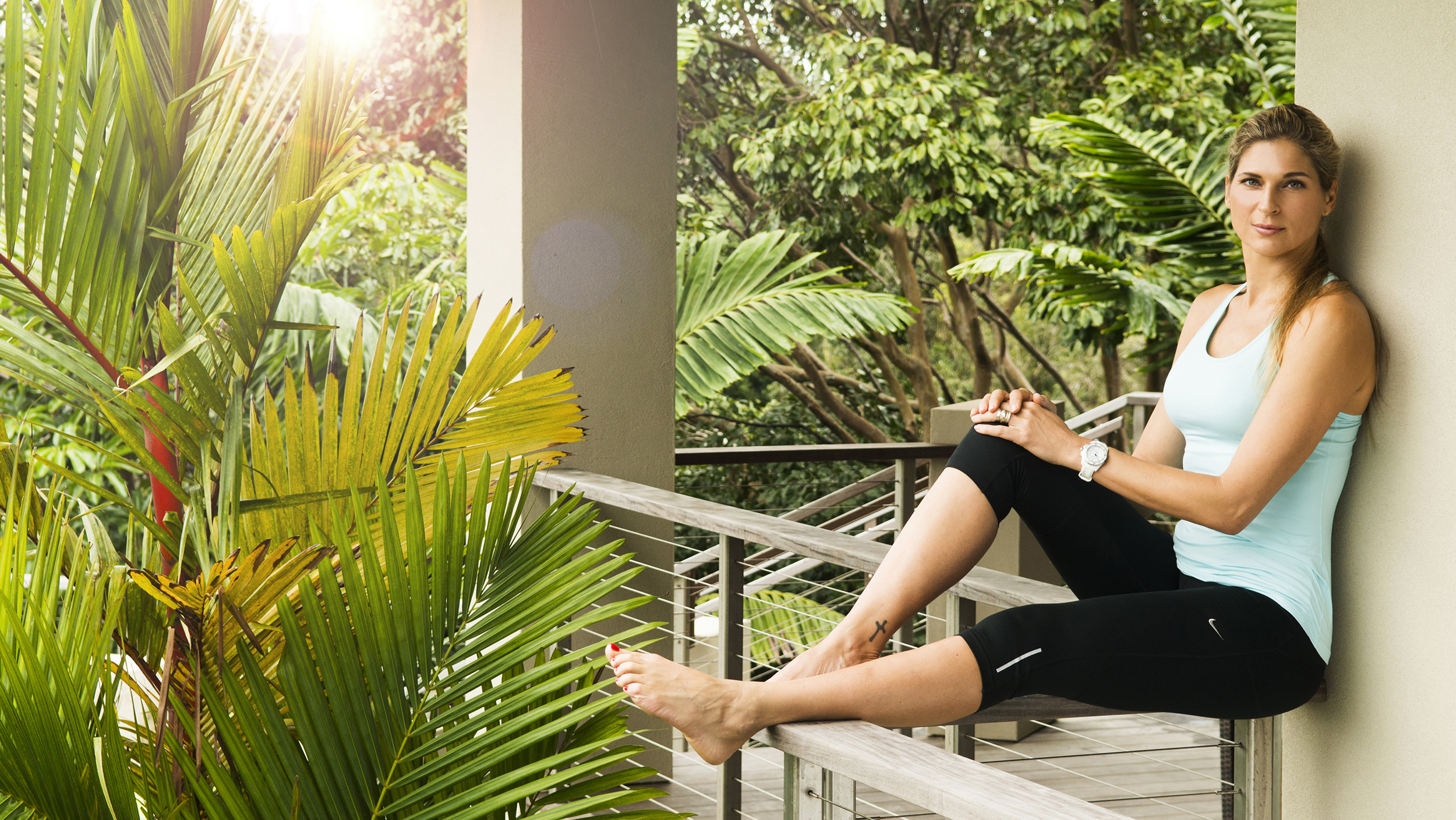 Gabrielle Reece on fitness, parenting and more