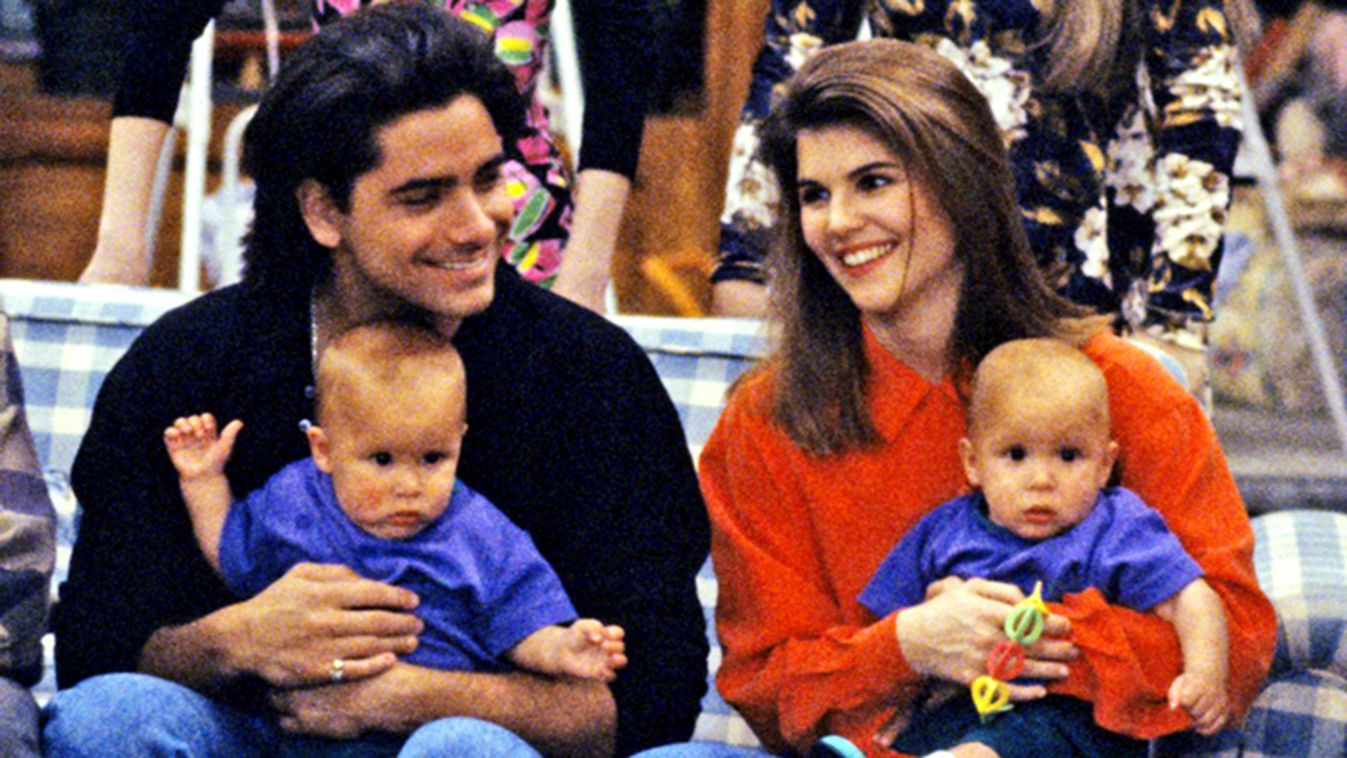 Lori Loughlin shares sweet then and now photos with Full House