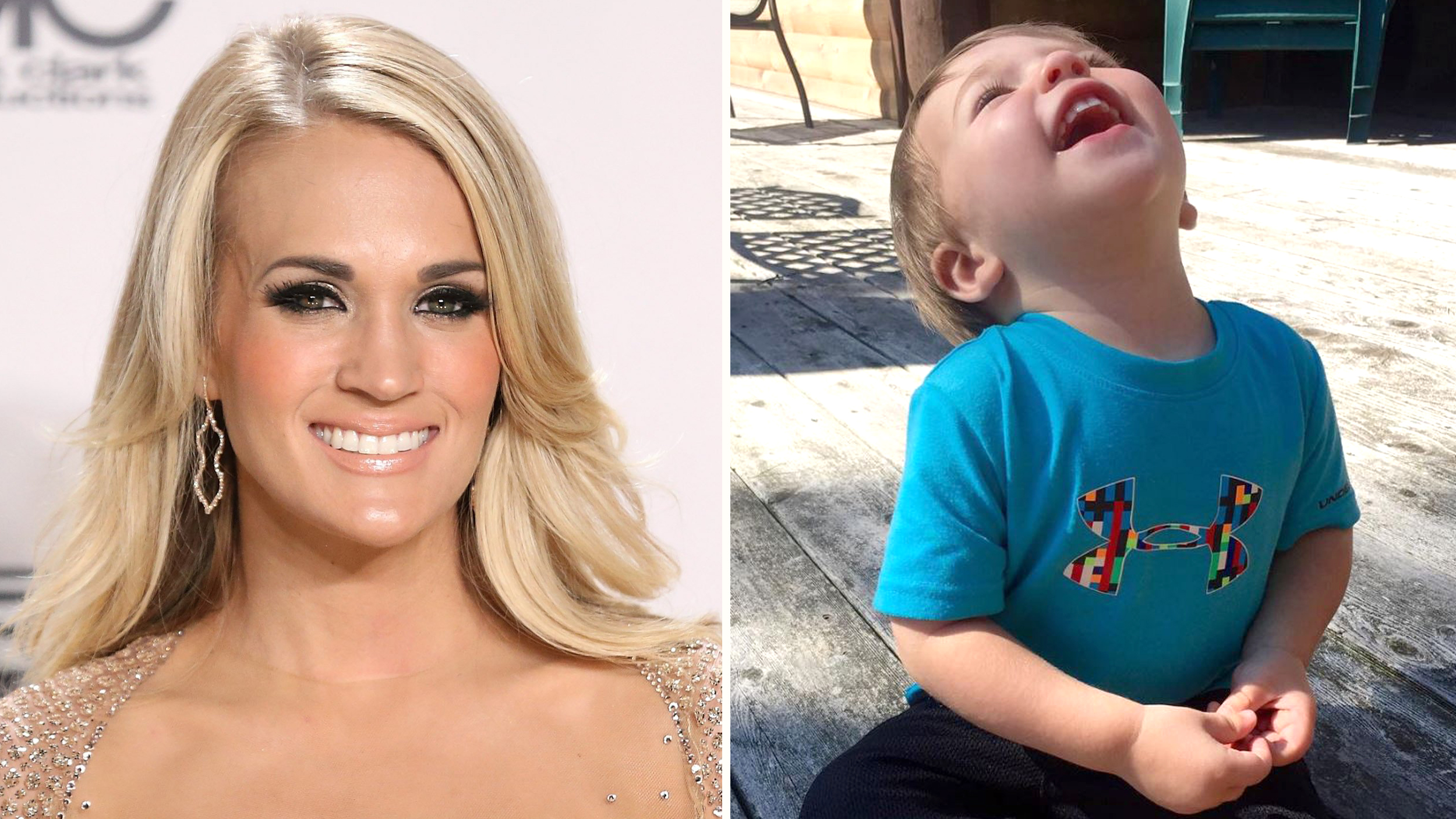 Carrie Underwood shares super cute pic of son Isaiah: 'I don't deserve such sweetness' - TODAY.com