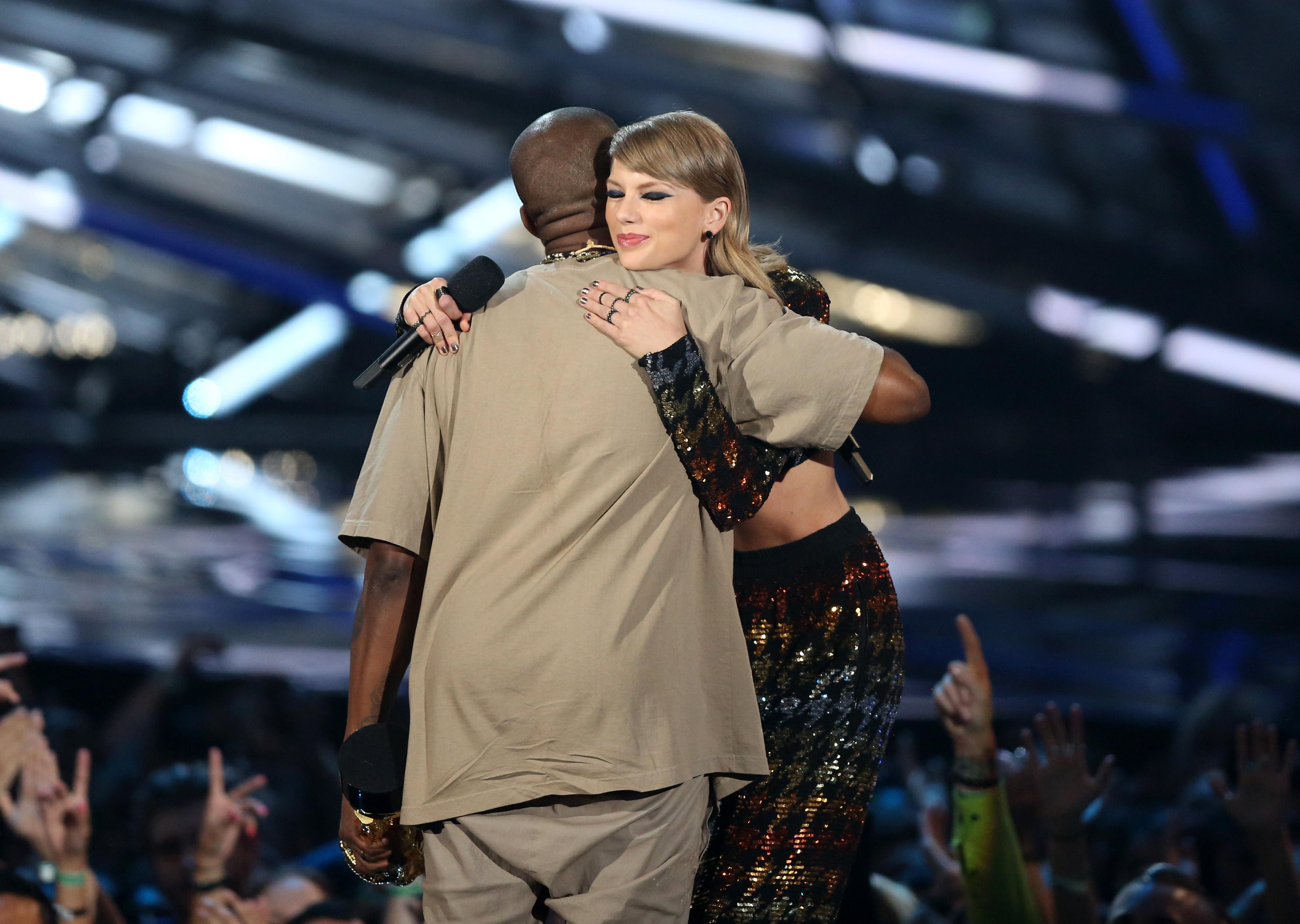 Kim Kardashian Posts Video Of Kanye West And Taylor Swift Discussing Famous Lyrics