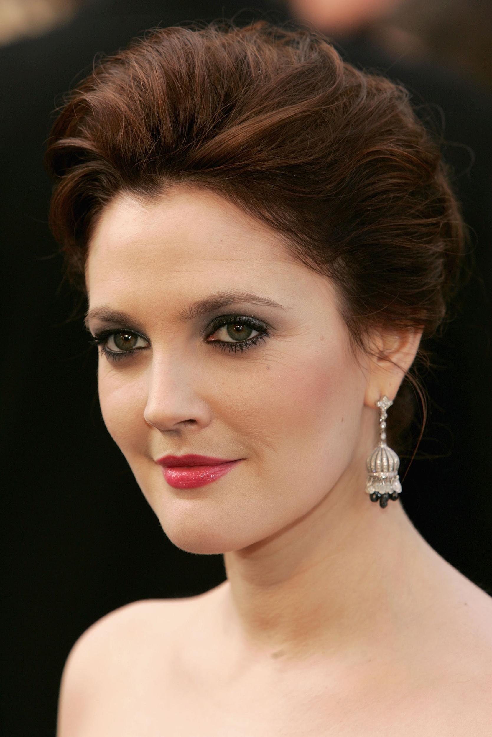 Drew Barrymore S Hair Evolution