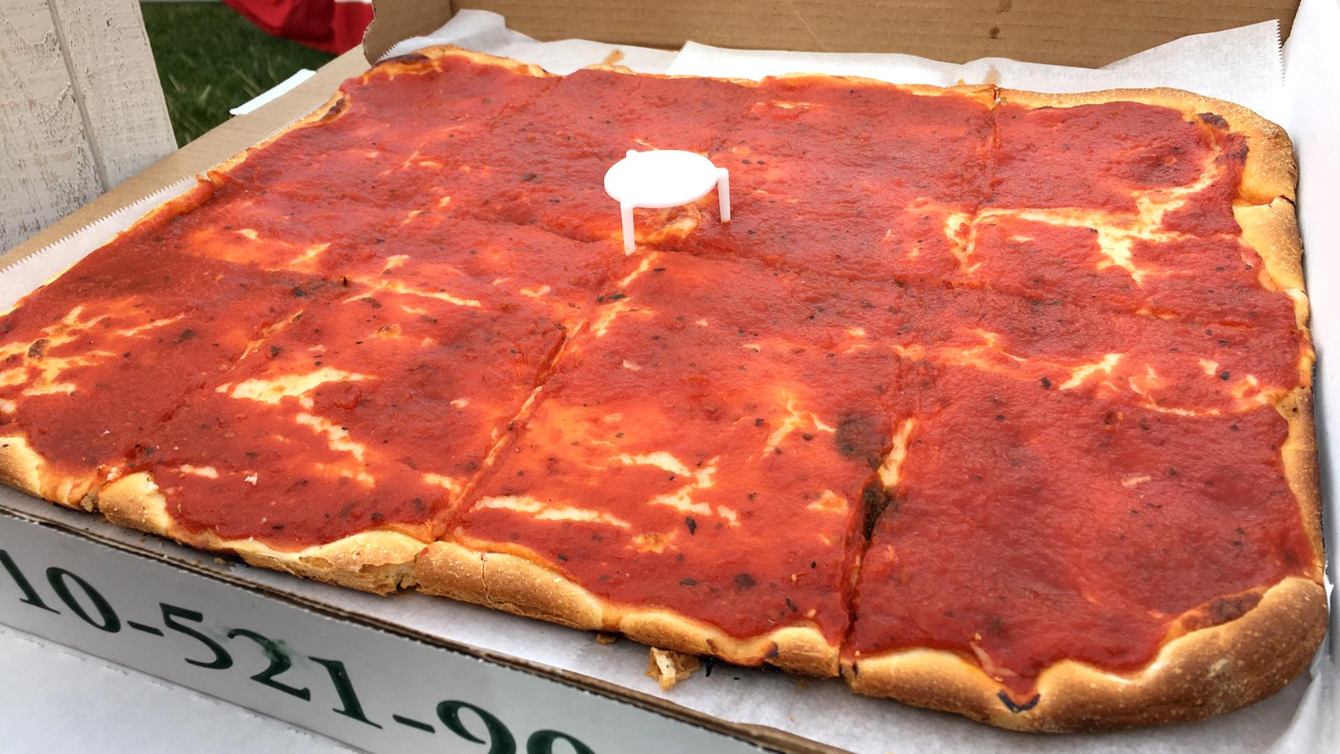 Iconic Philadelphia Foods Tomato Pie Roast Pork Sandwiches