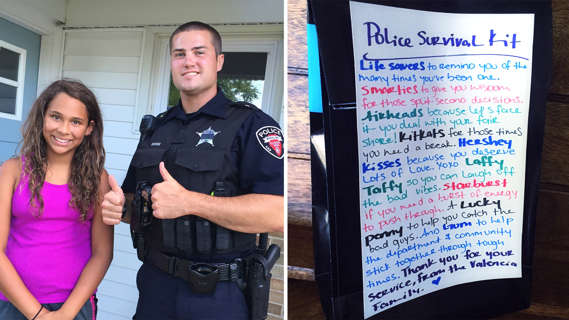 Deals for police officers