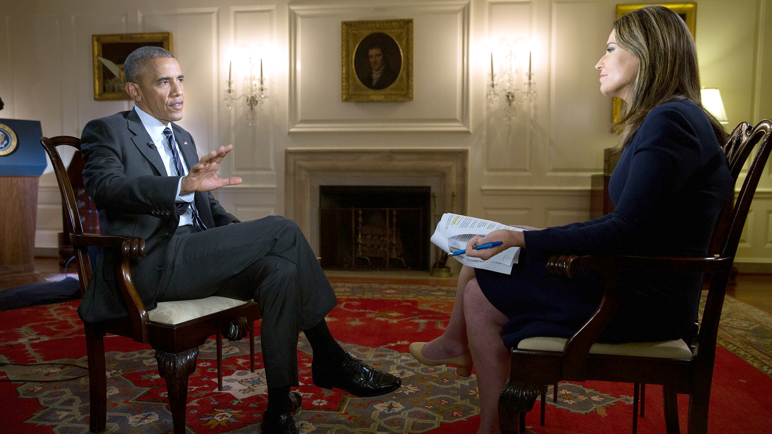 Can Donald Trump Win Anything Is Possible Obama Tells Savannah Guthrie