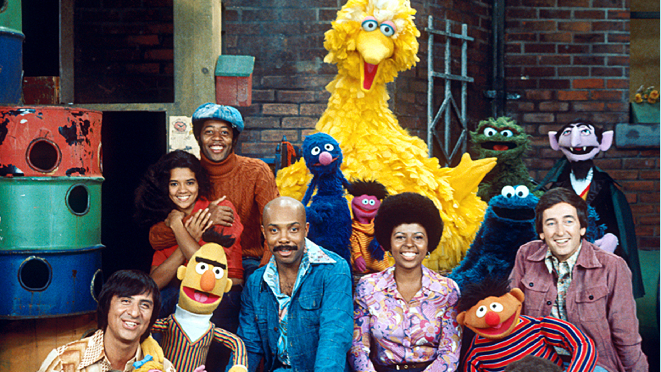 Image result for sesame street debuted on pbs