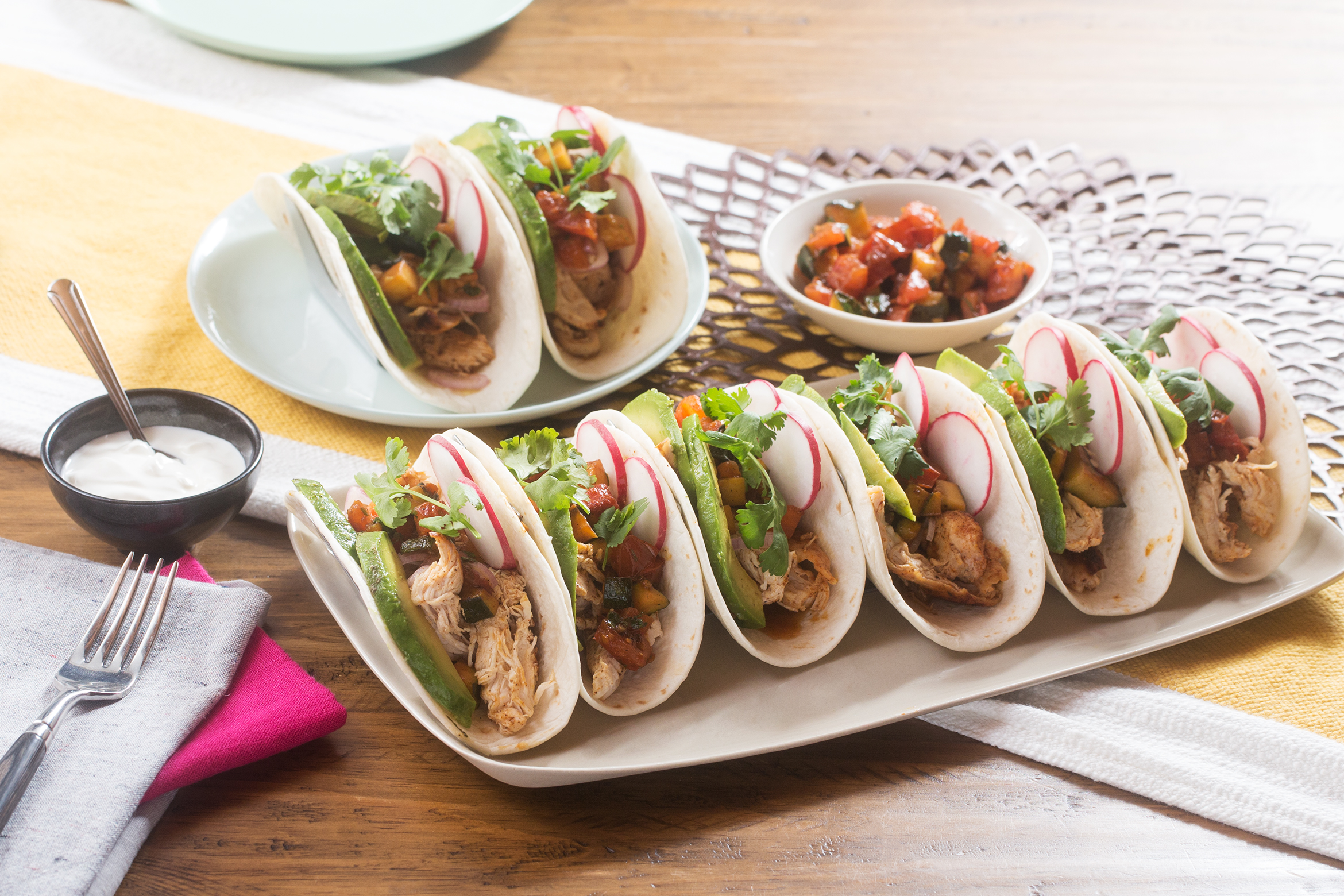 Blue apron tacos - Make The Chicken Tinga Tacos That Siri Daly Can T Get Enough Of Today Com