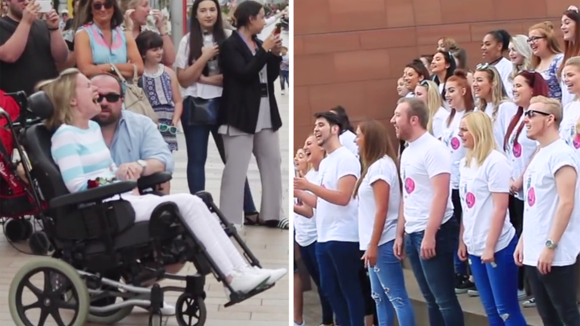 A Mo Bb Husband Plans Unforgettable Flash Mob Surprise For Wife Who Has Ms