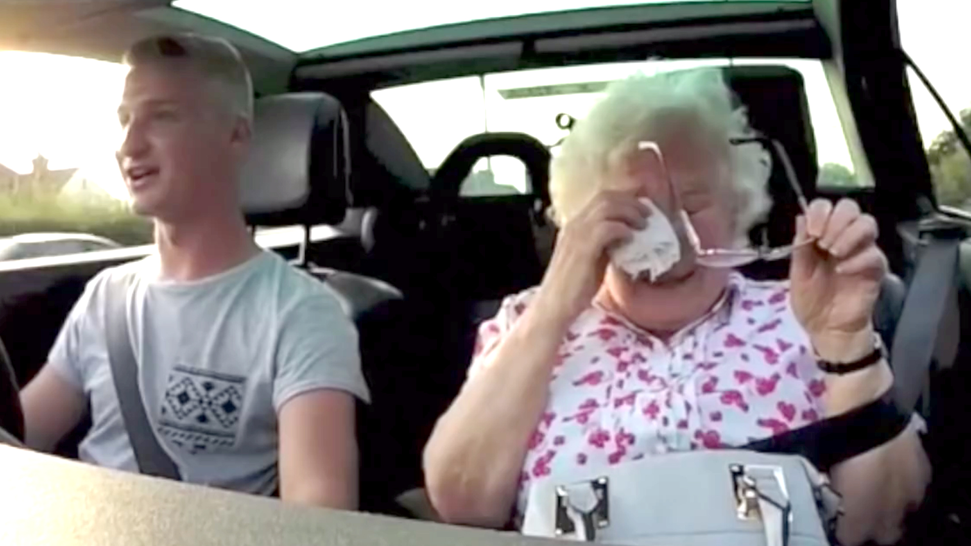 Man surprises grandma with fake radio station on her for What to get grandma for her birthday